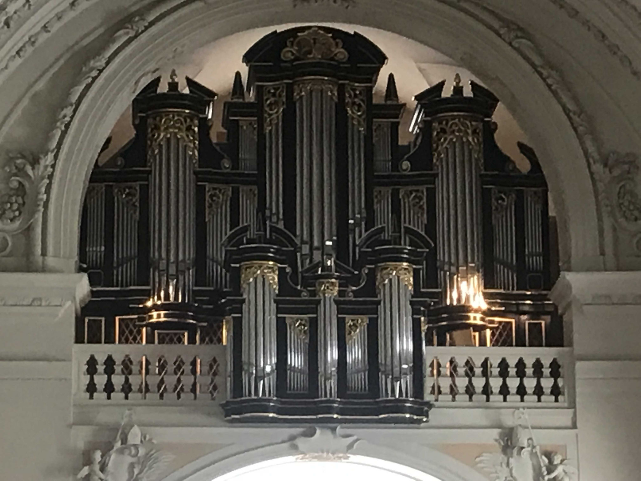 grosse Orgel in Wilten