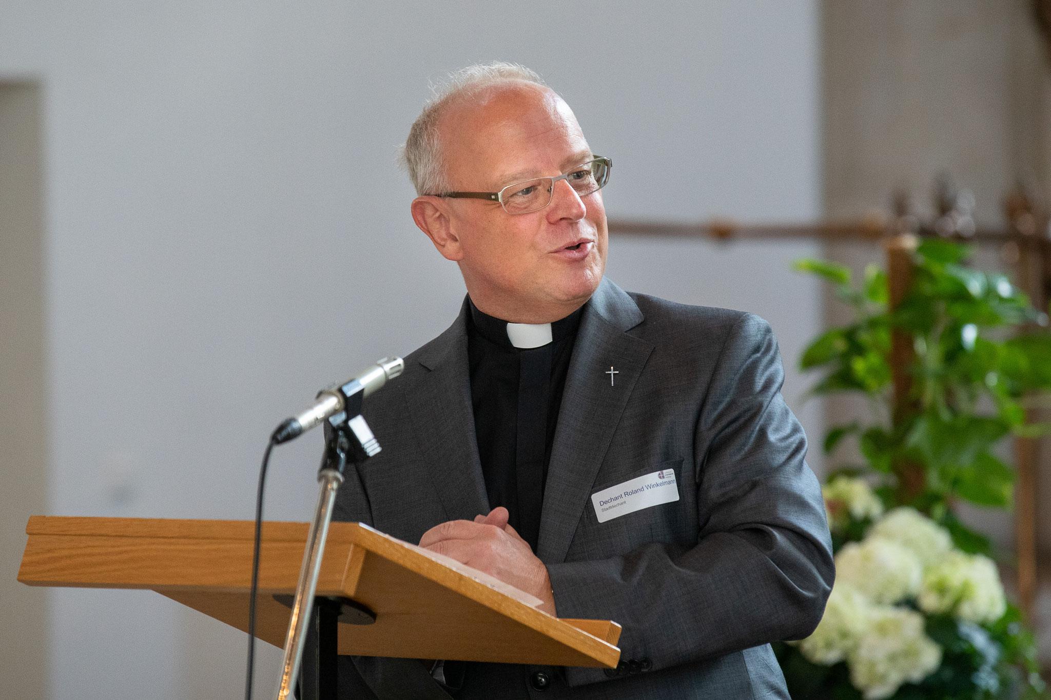 Stadtdechant Roland Winkelmann   © Achim Pohl I Bistum Essen