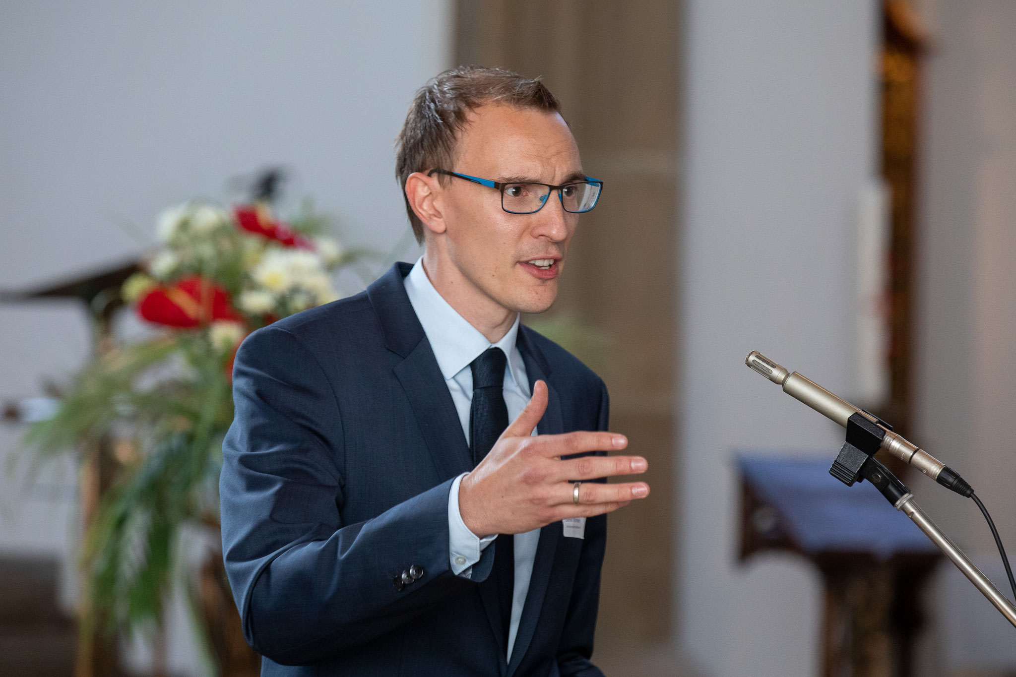 Katholikenratsvorsitzender Daniel Wörmann   © Achim Pohl I Bistum Essen