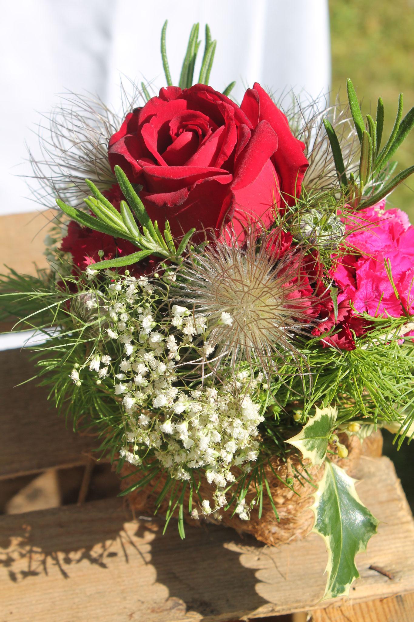 Blumenschmuck für eine Feier