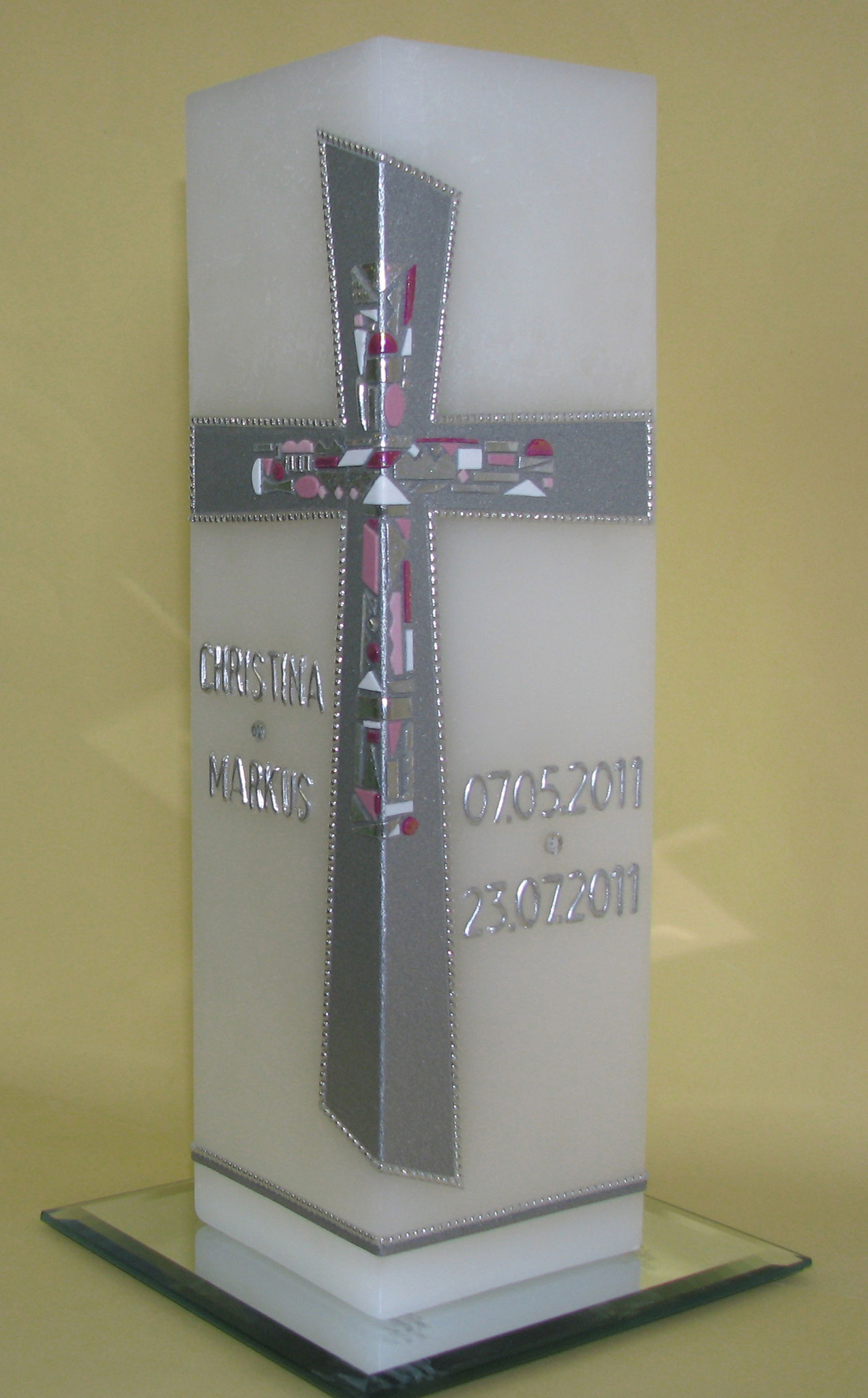 HE-0055, quadratisch, HxB ca 24 cm x 7,5 cm, Preis ca. € 48,--