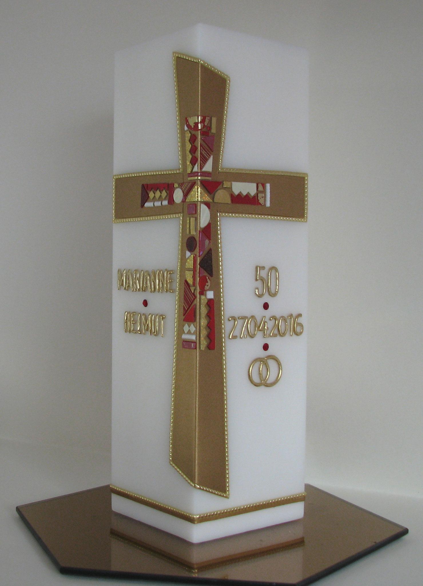HE-0011, quadratisch, HxB ca. 24 cm x 7,5 cm, Preis ca. € 52,--