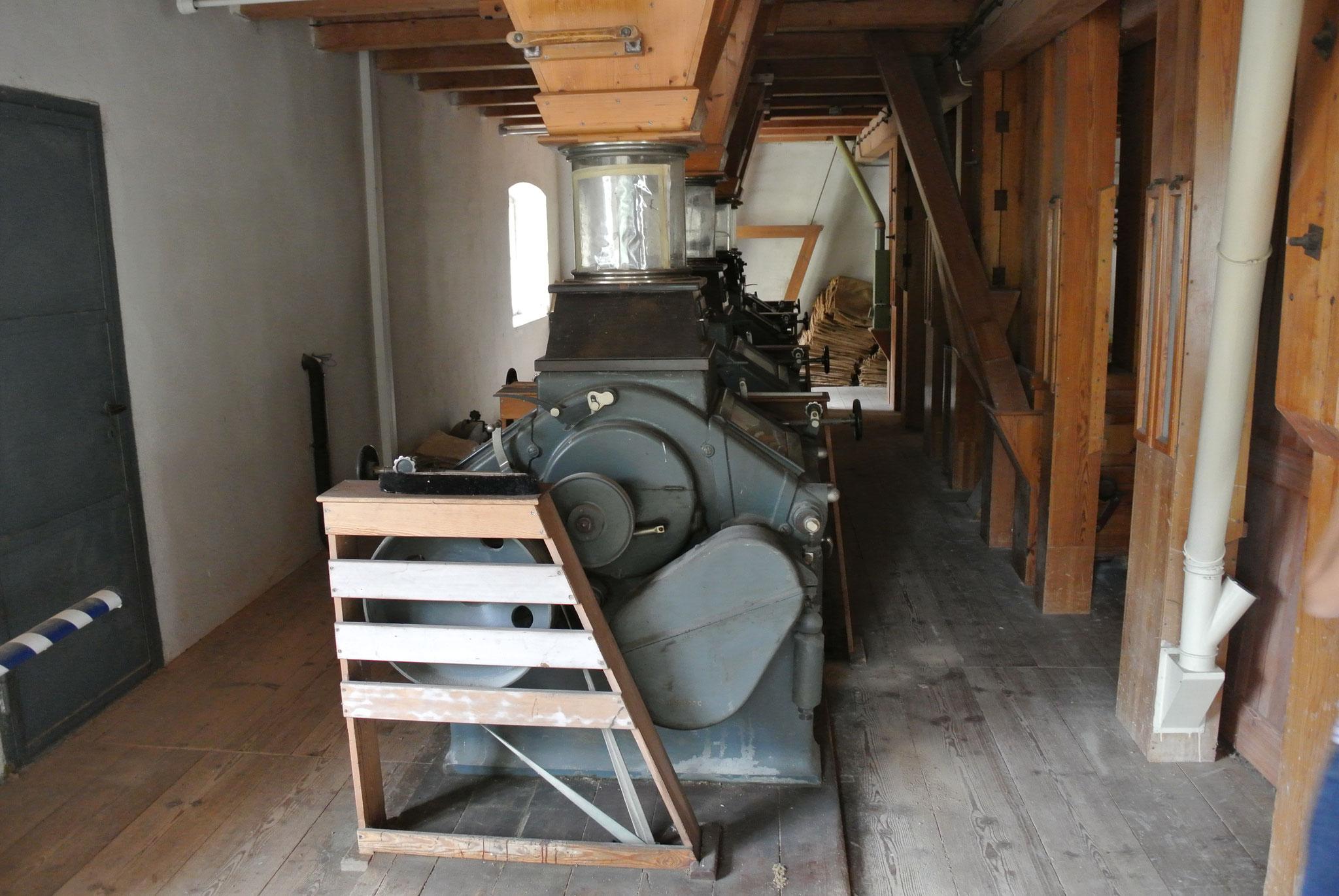 Walzenstühle der Kunstmühle Stark