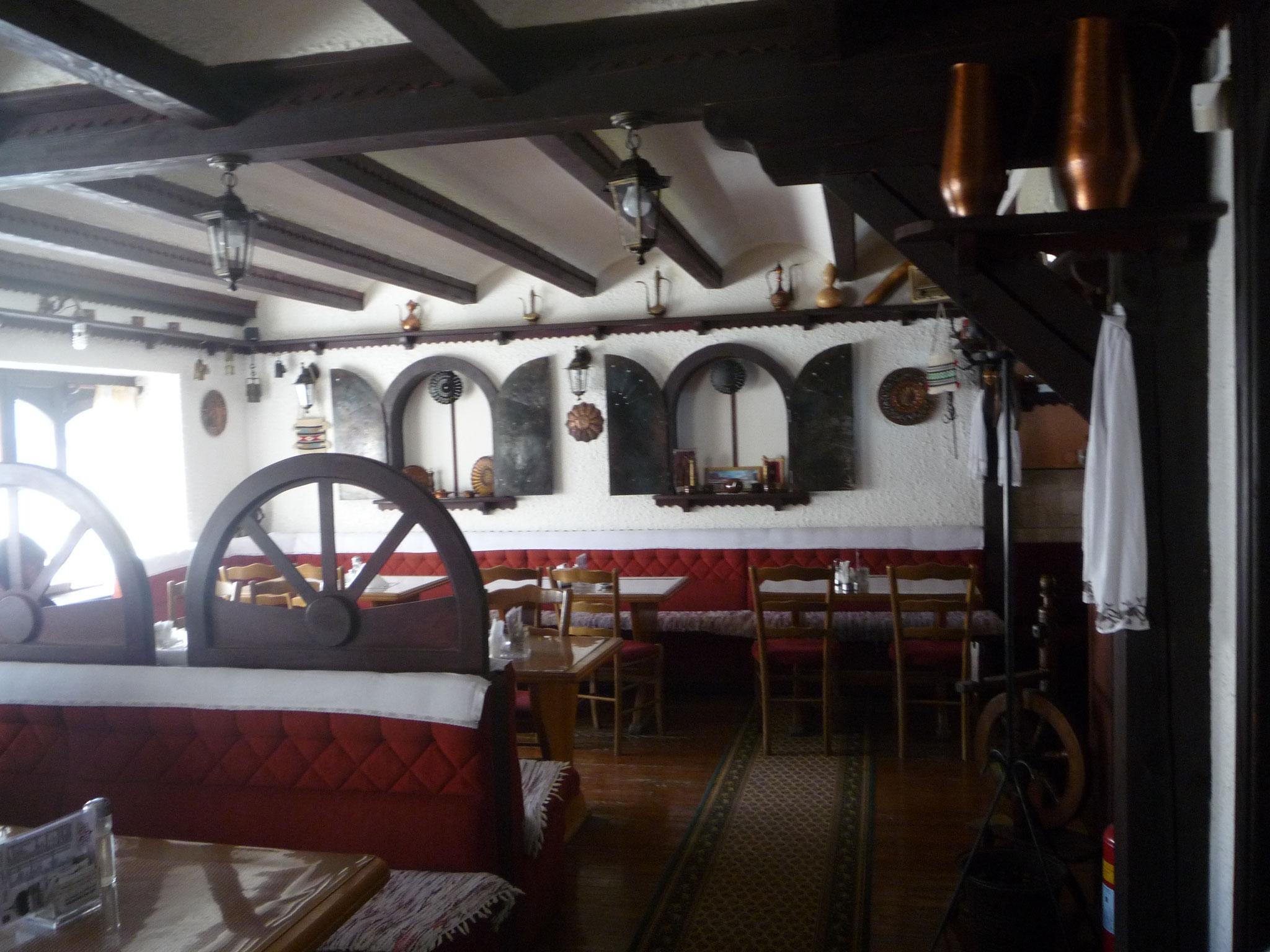 Interno ristorante tipico