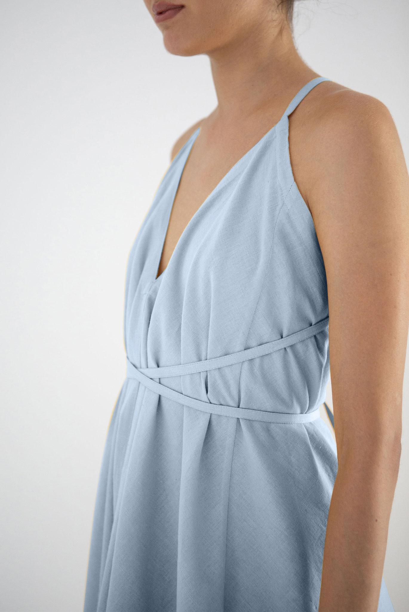 Multiposition Dress - Grey Mist