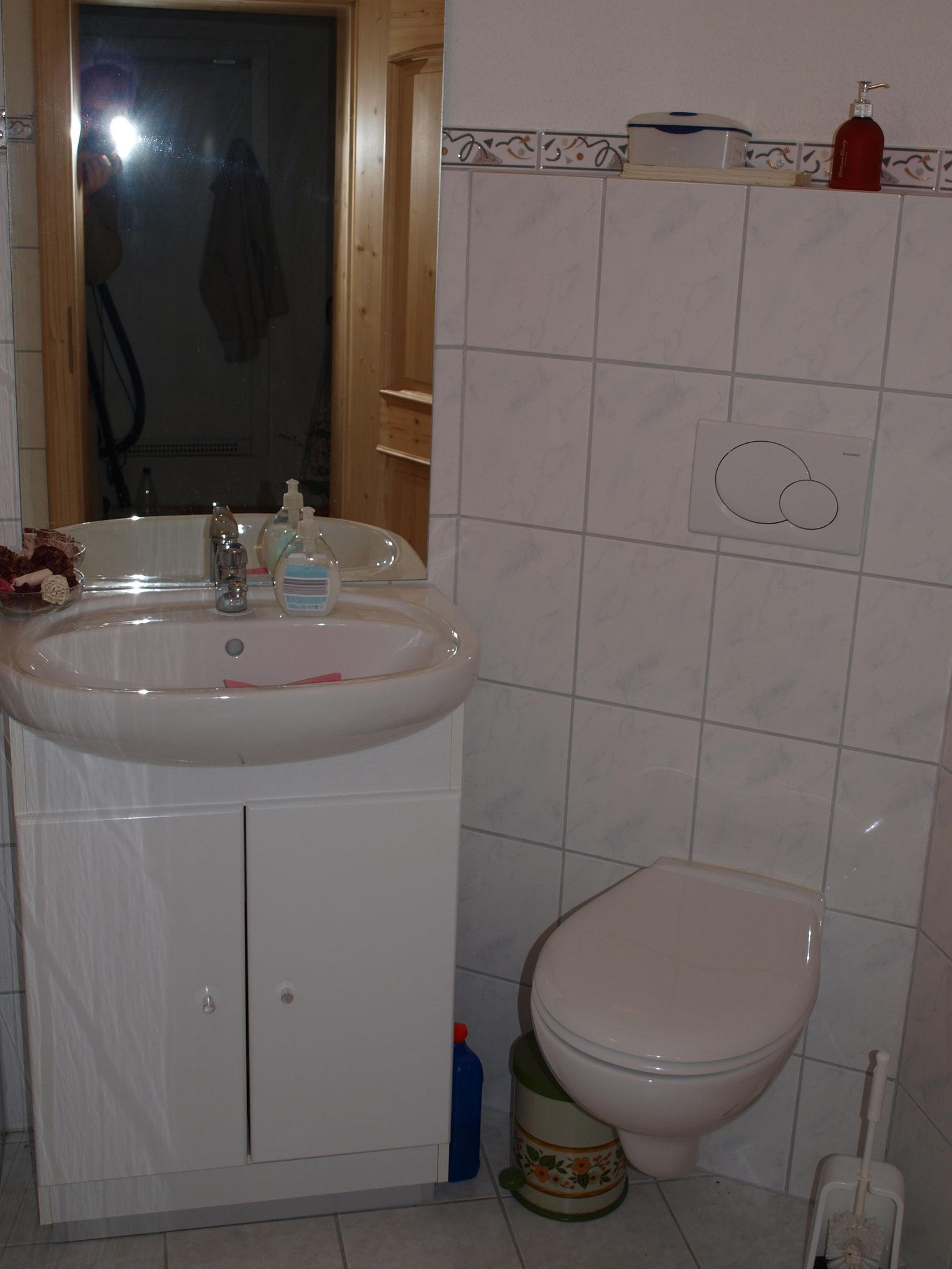 Beispiel Gäste-WC