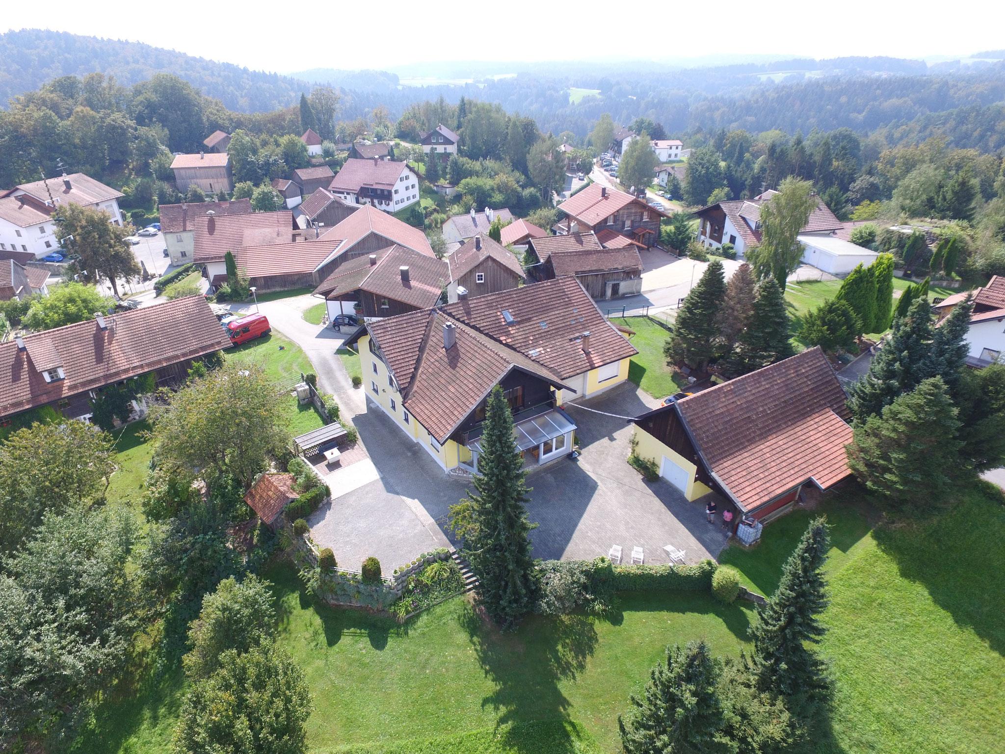 Ferienhaus Panoramablick im Ritterörtchen Ranfels