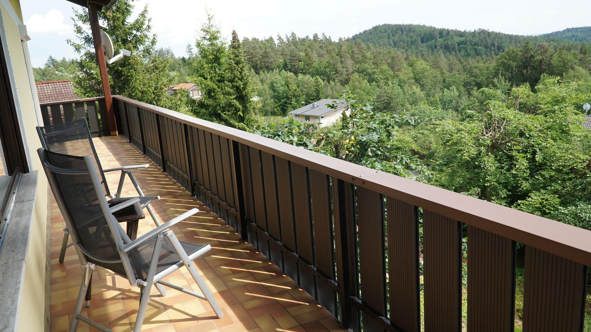 20 m Balkon; Ost- und Südseite