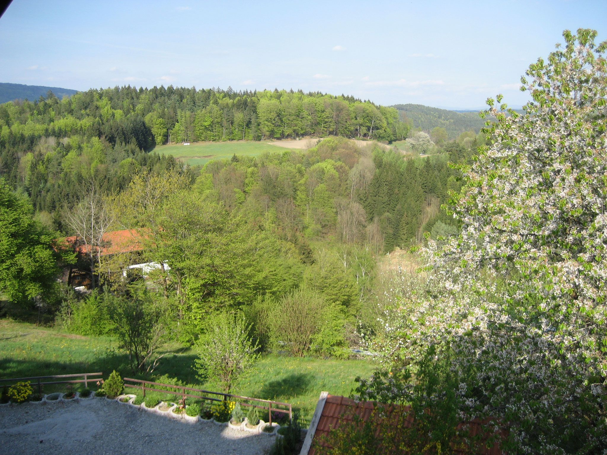 Panoramablick in Richtung Thurmansbang