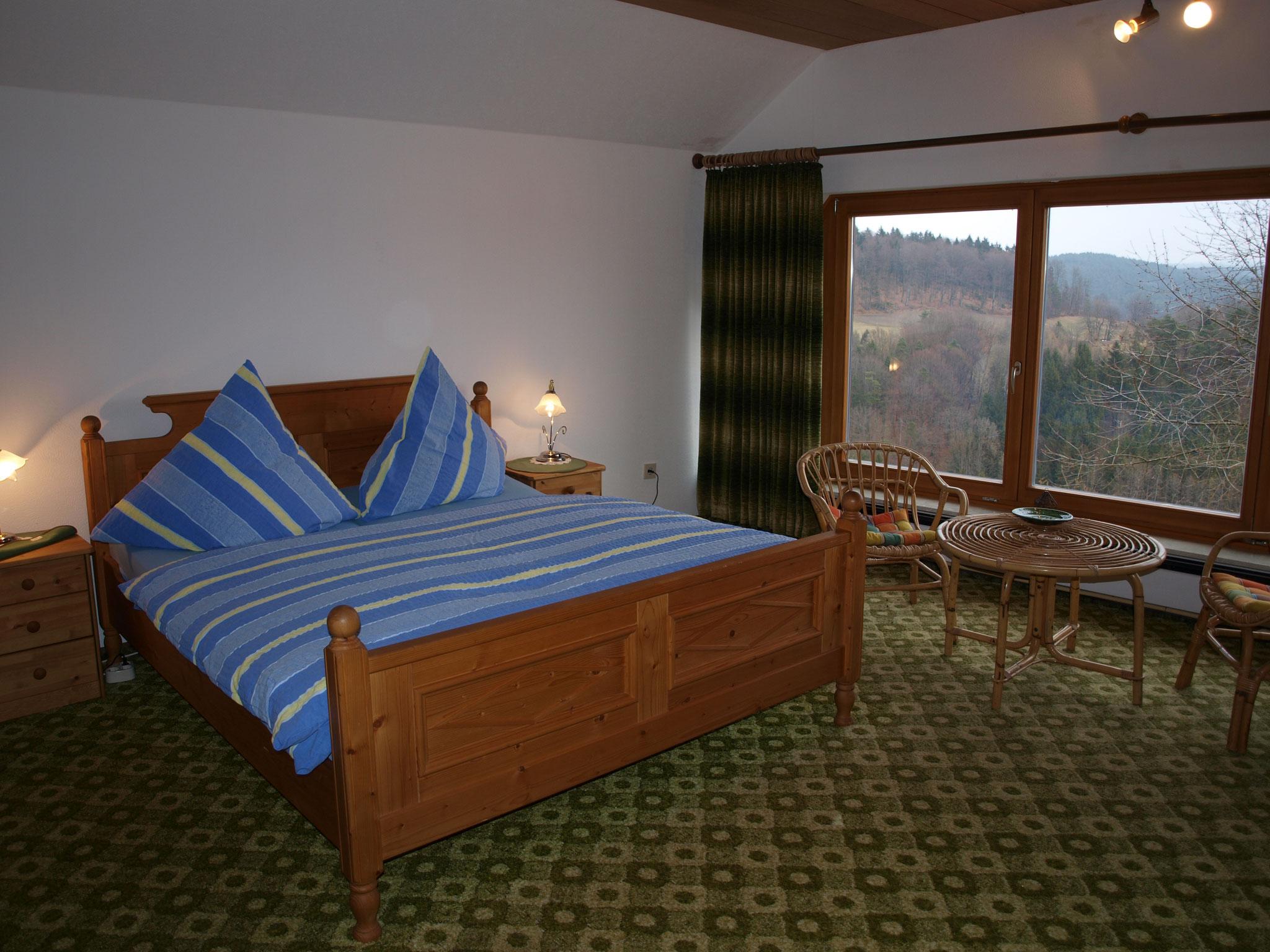 Doppelzimmer mit Panoramafenster