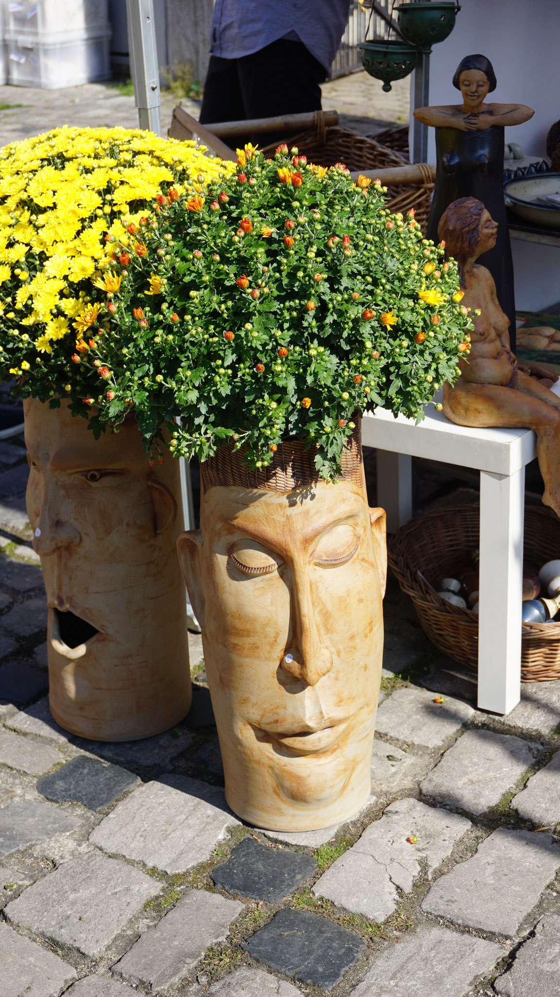 Impressionen vom Töpfermarkt in Sommerhausen