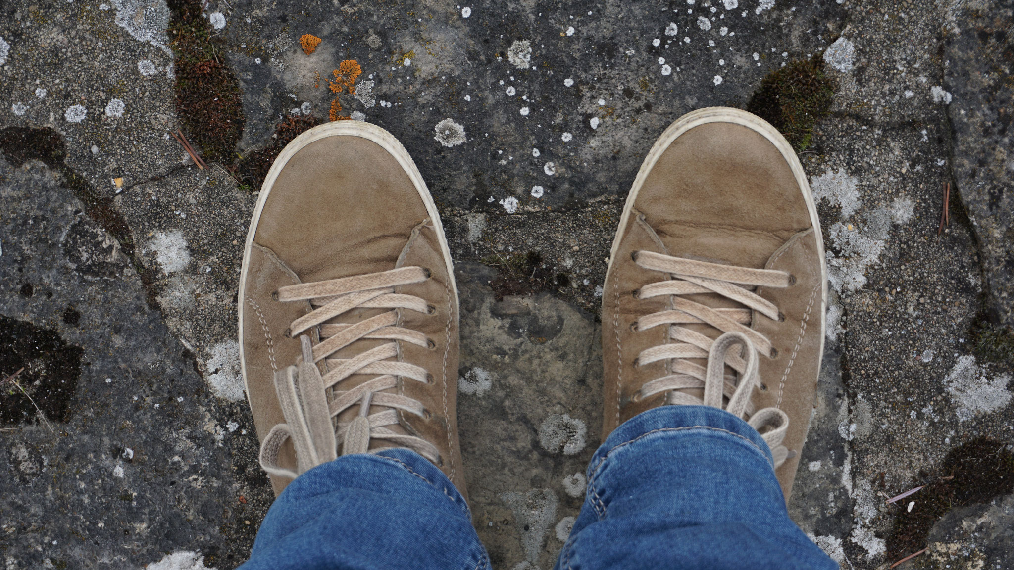 Mein erstes Füße-Foto