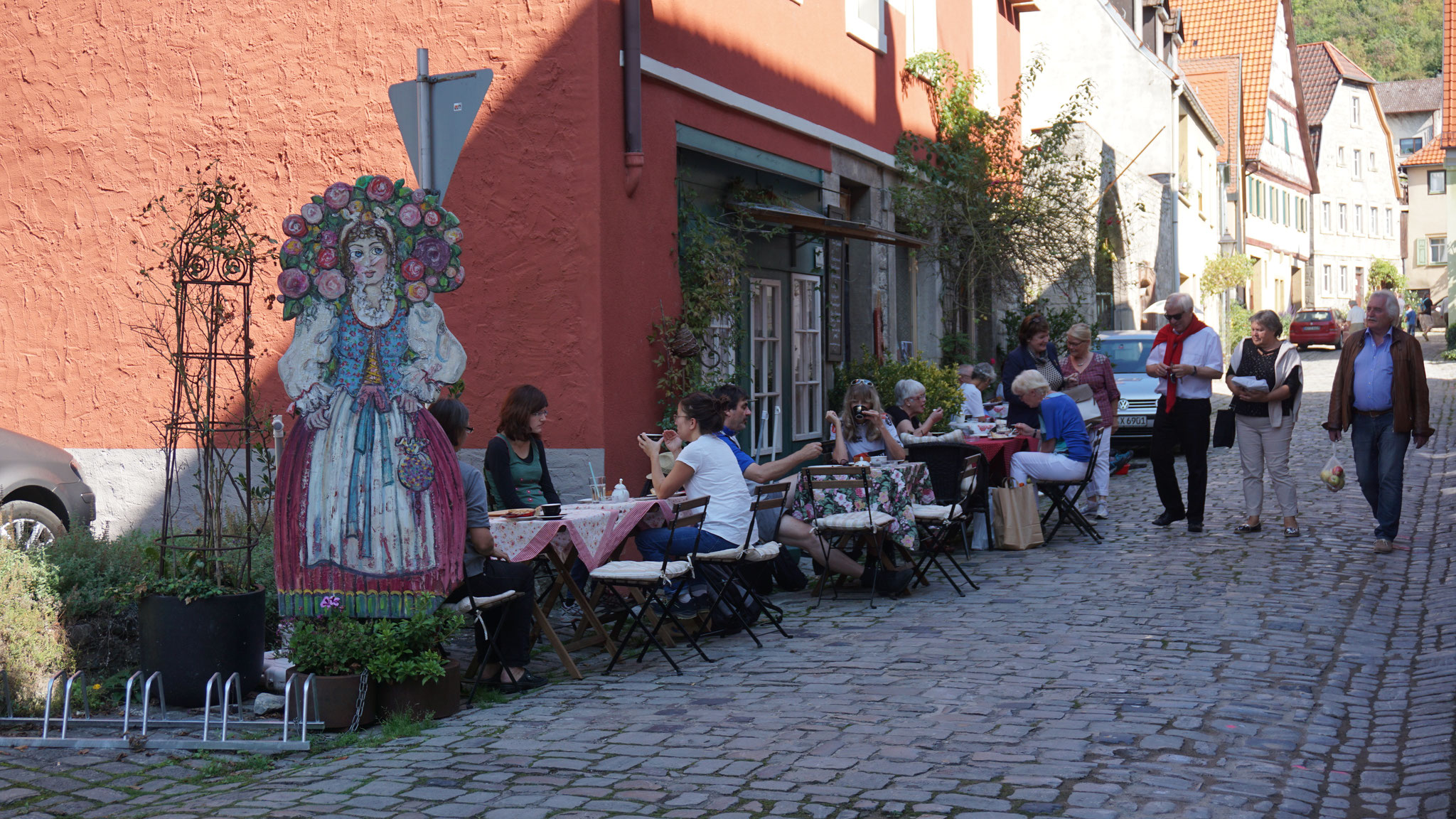 Ein traumhaftes Café in der Katharinengasse