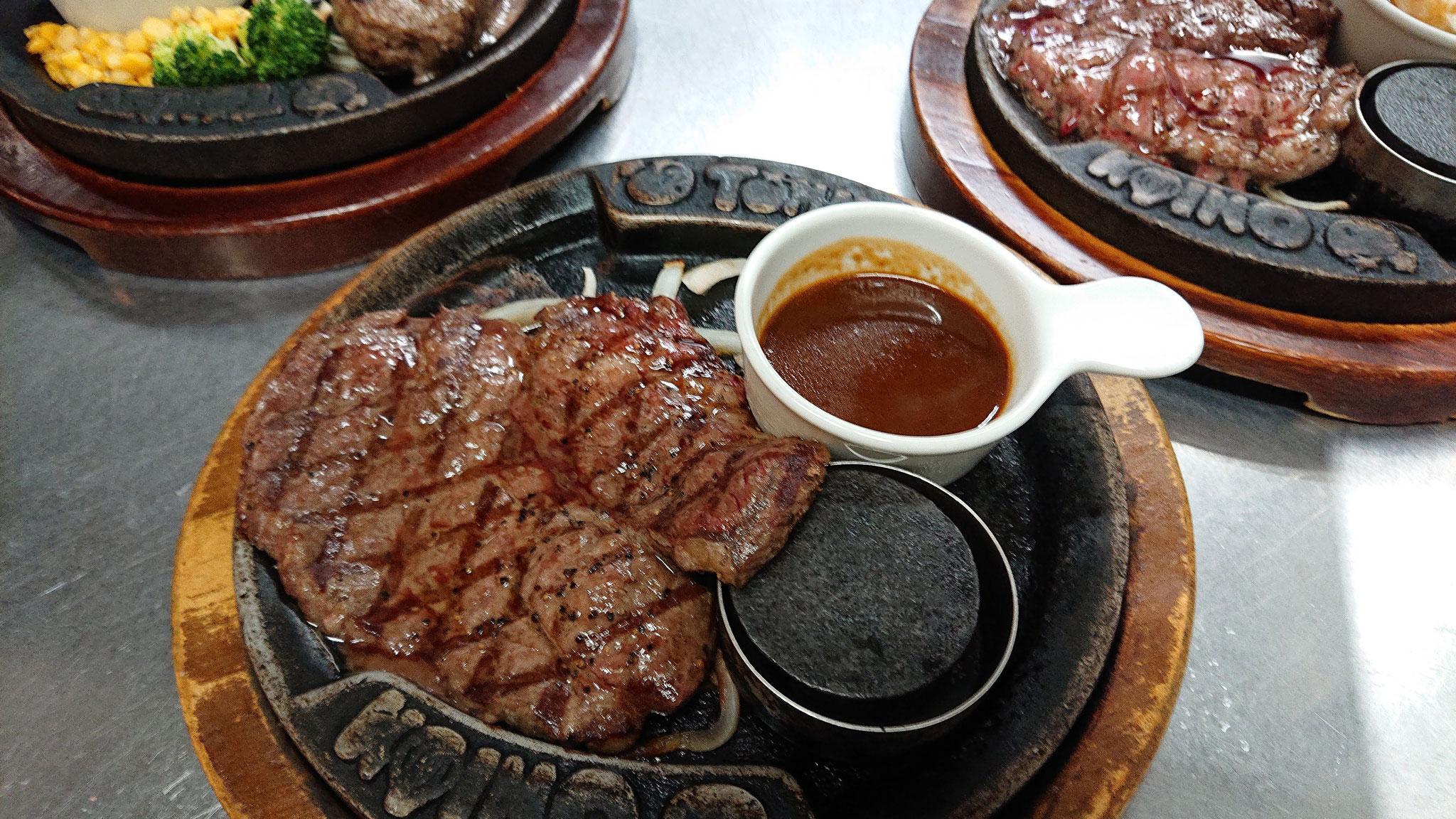 ステーキで断トツ人気の『大判赤身ステーキ』やわらくて美味しい!