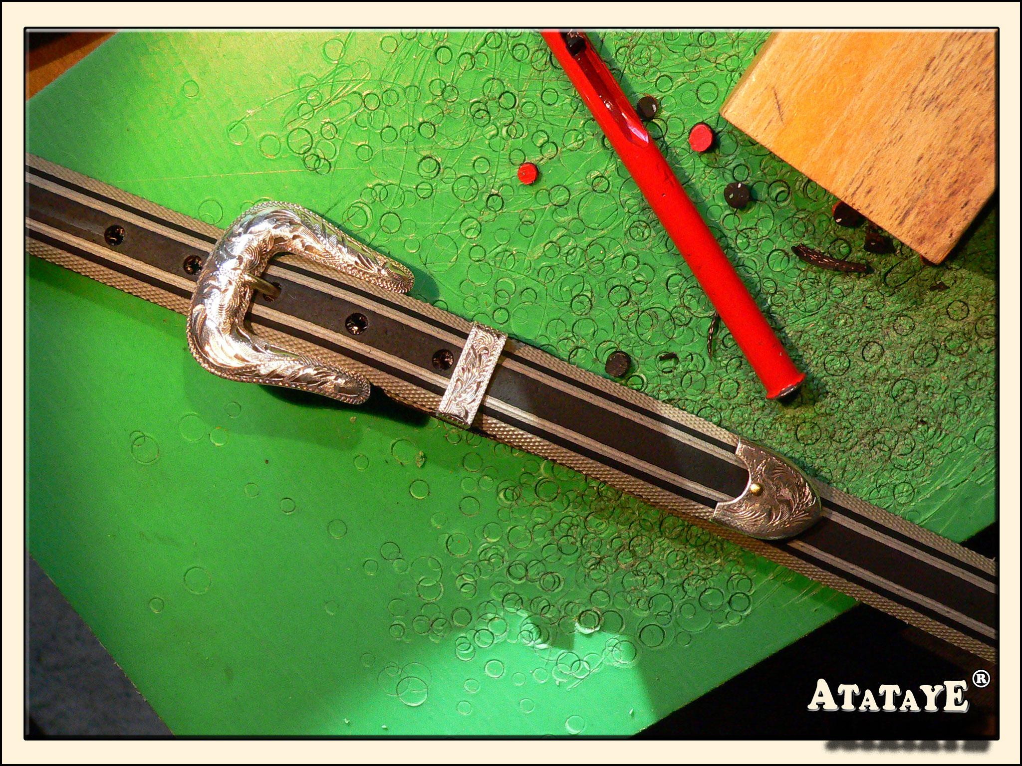 Atataye - Magnifique boucle Mexicaine 3 pièces qui retrouve une nouvelle vie.