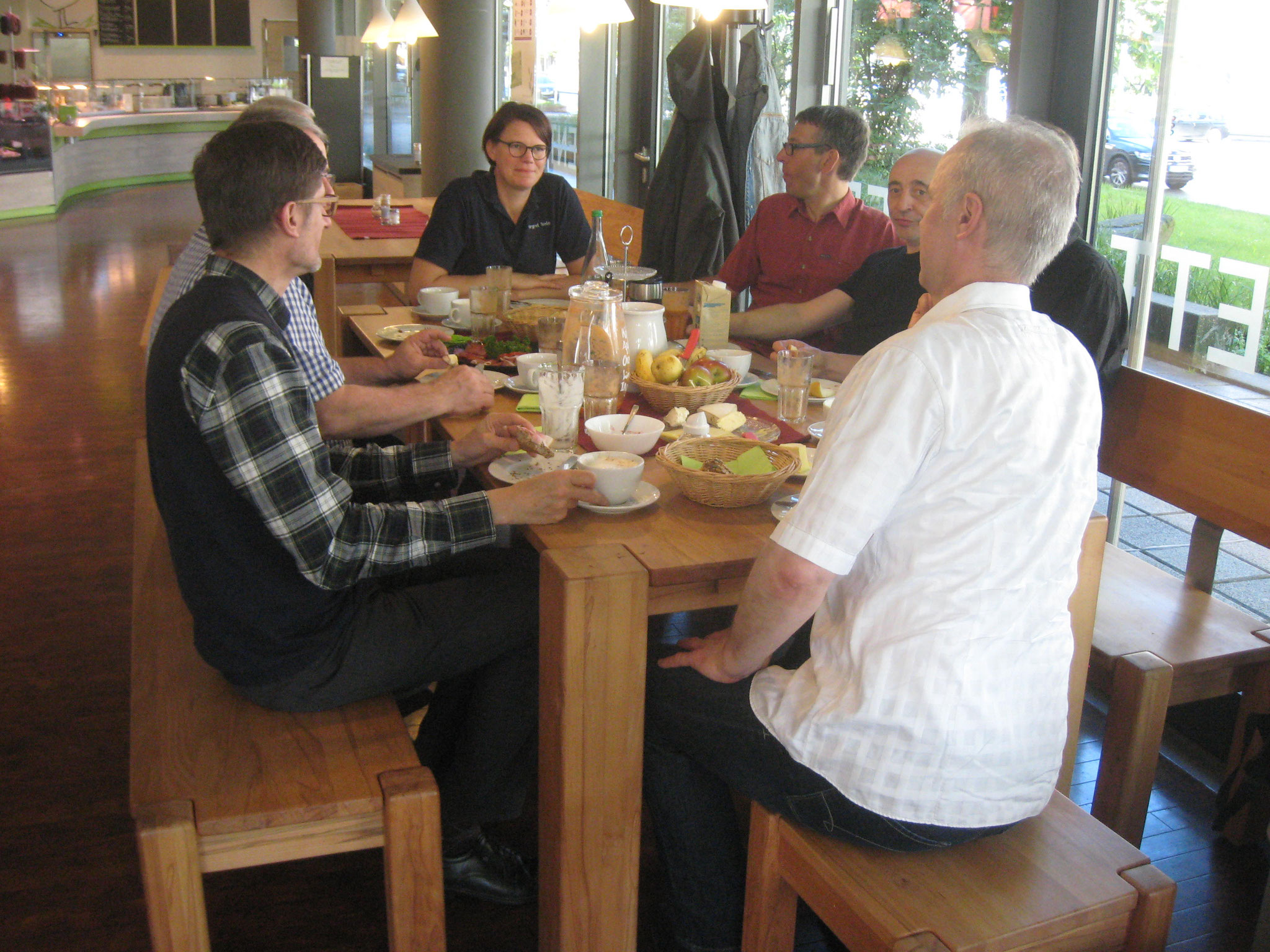 Das Essen kommt bei den Tagungen nicht zu kurz