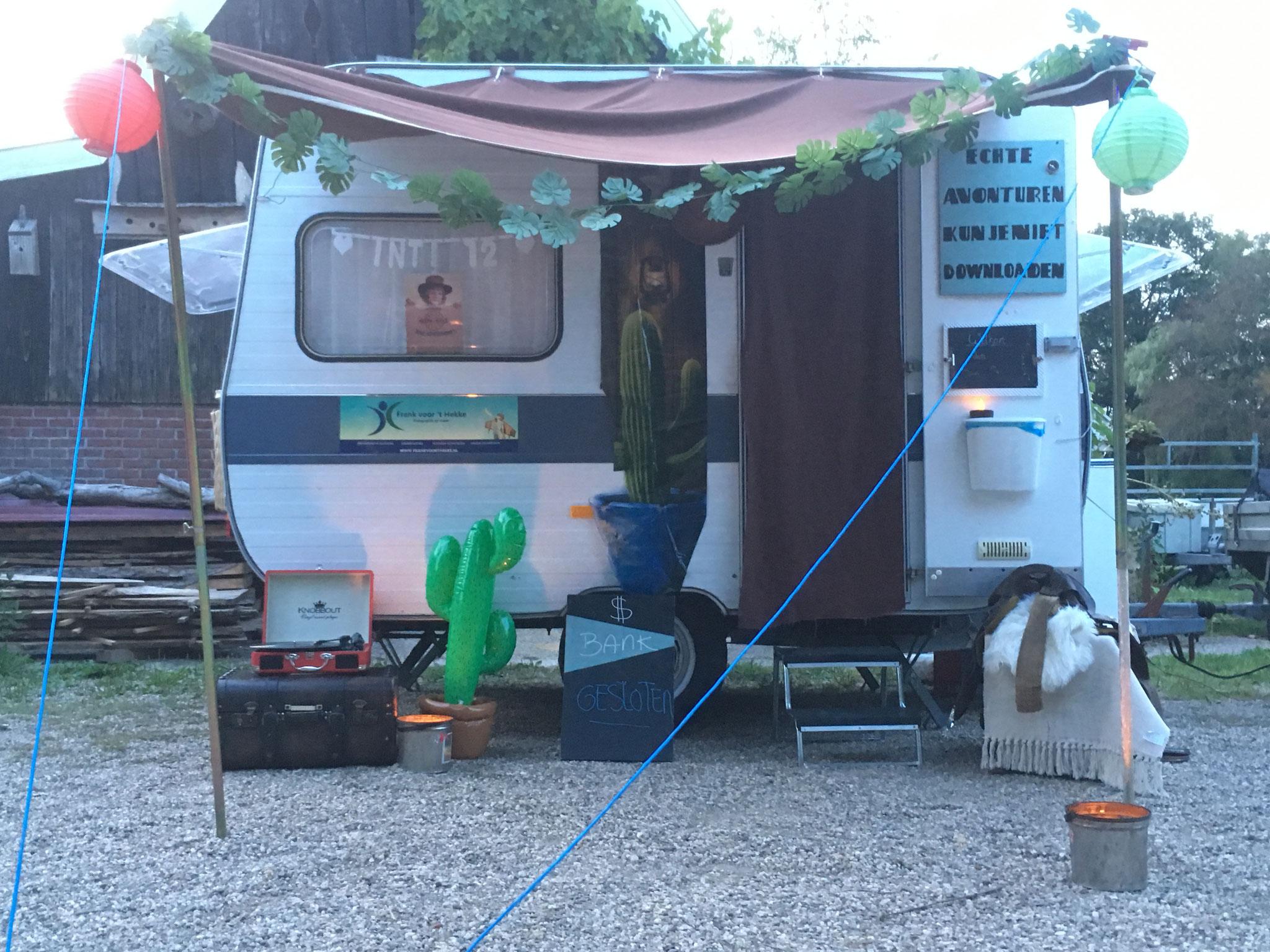 Mobiele escaperoom - wild west