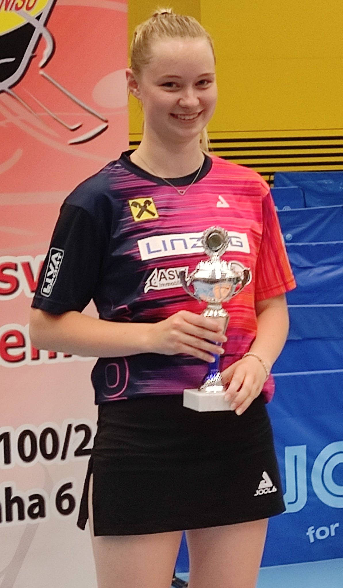 Romy Reiter 2. Platz im Jugend Einzel