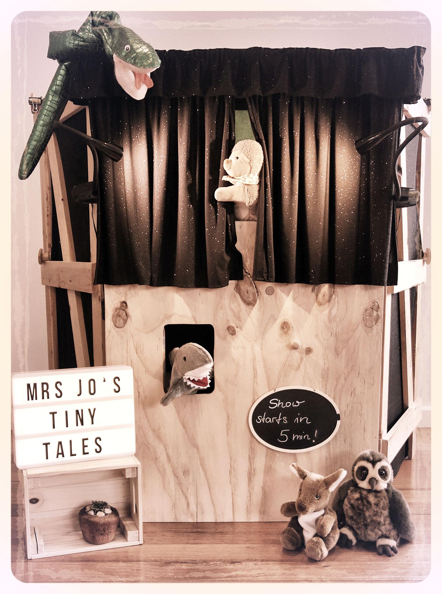 Mrs Jo's Tiny Tales - puppet show incursion Melbourne