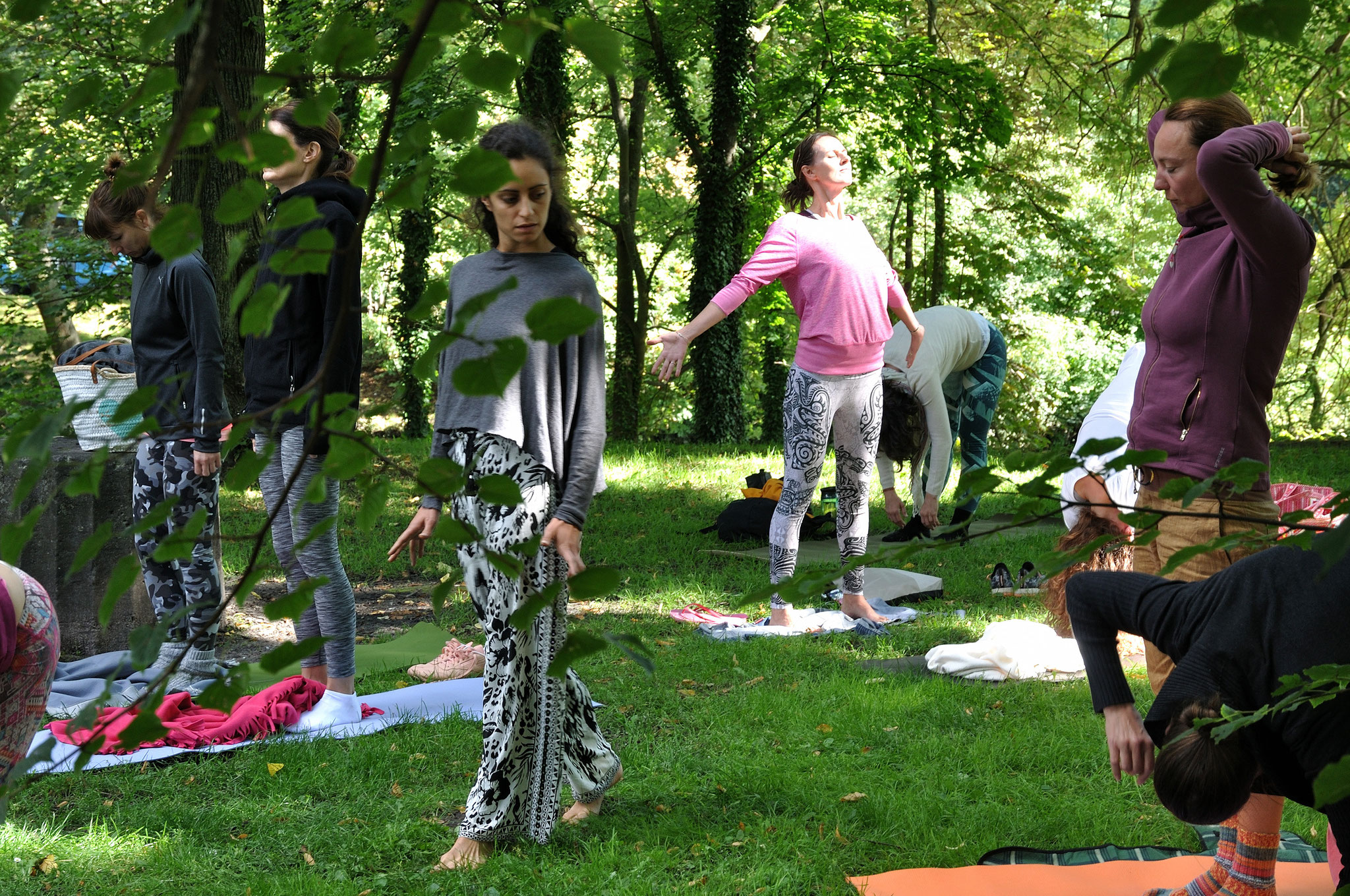 Freestyle Meditation Authentic Movements with Alice. Foto: Elisabeth Stumpf