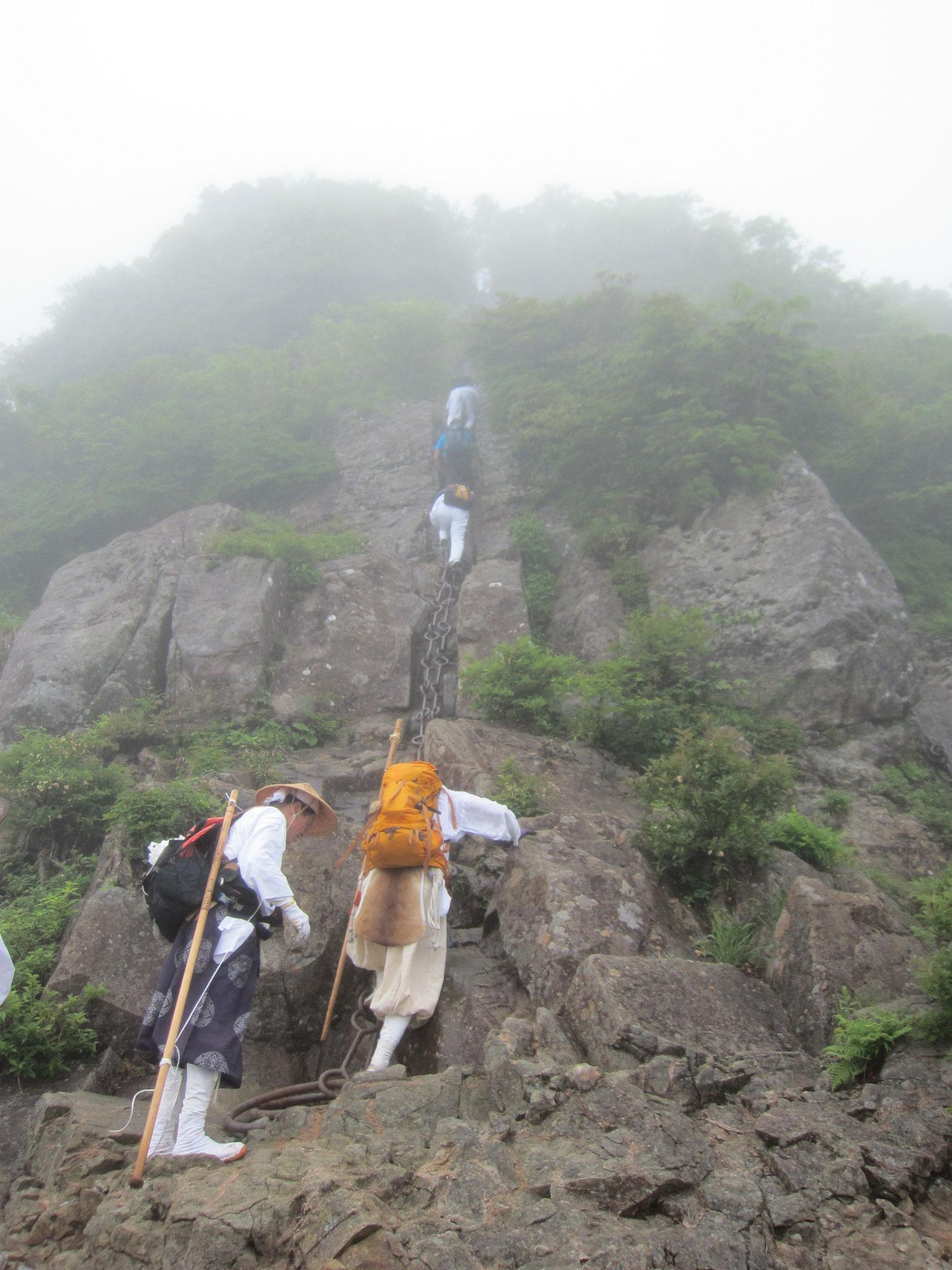 石鎚山登拝