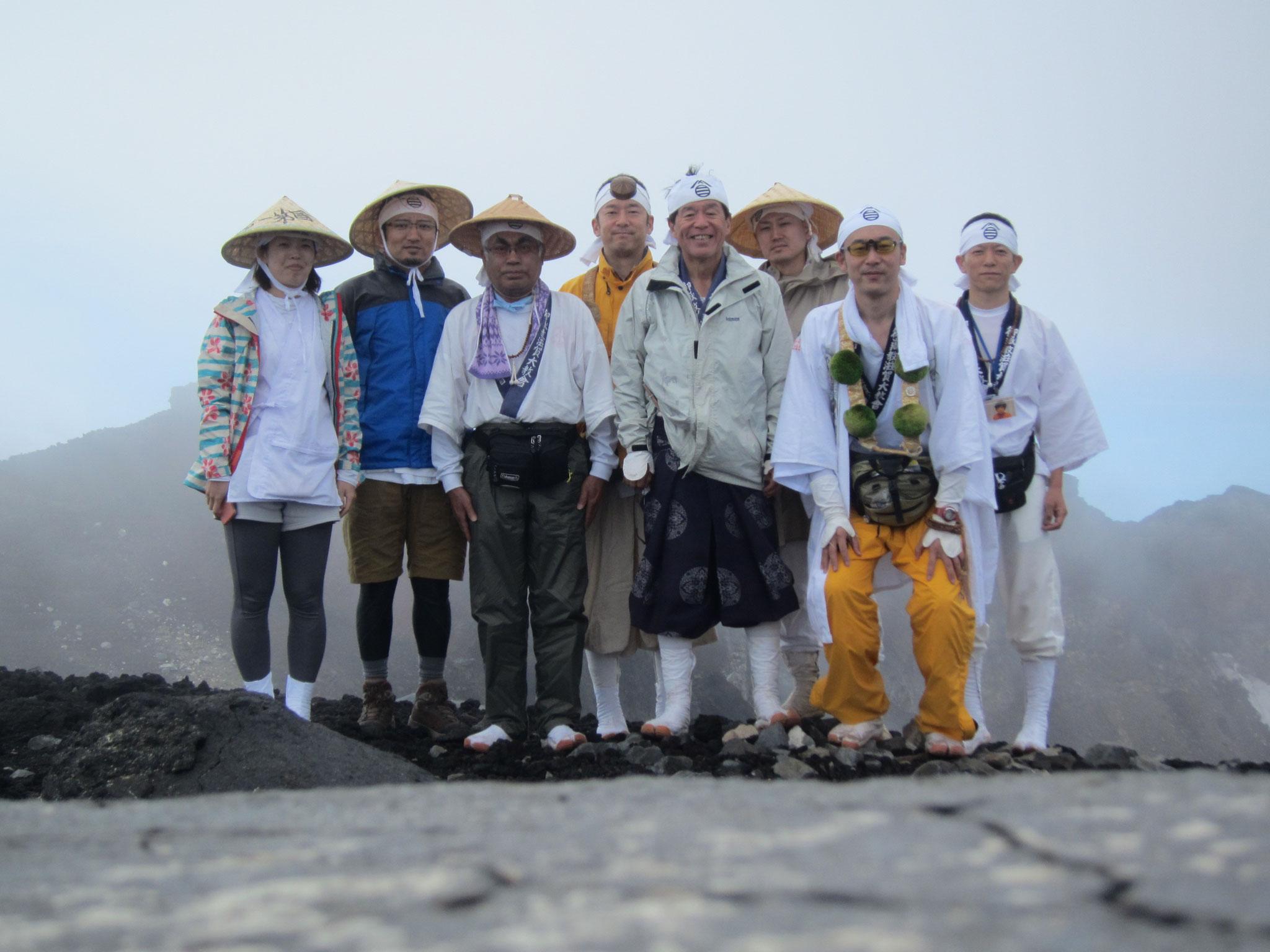 富士山登拝