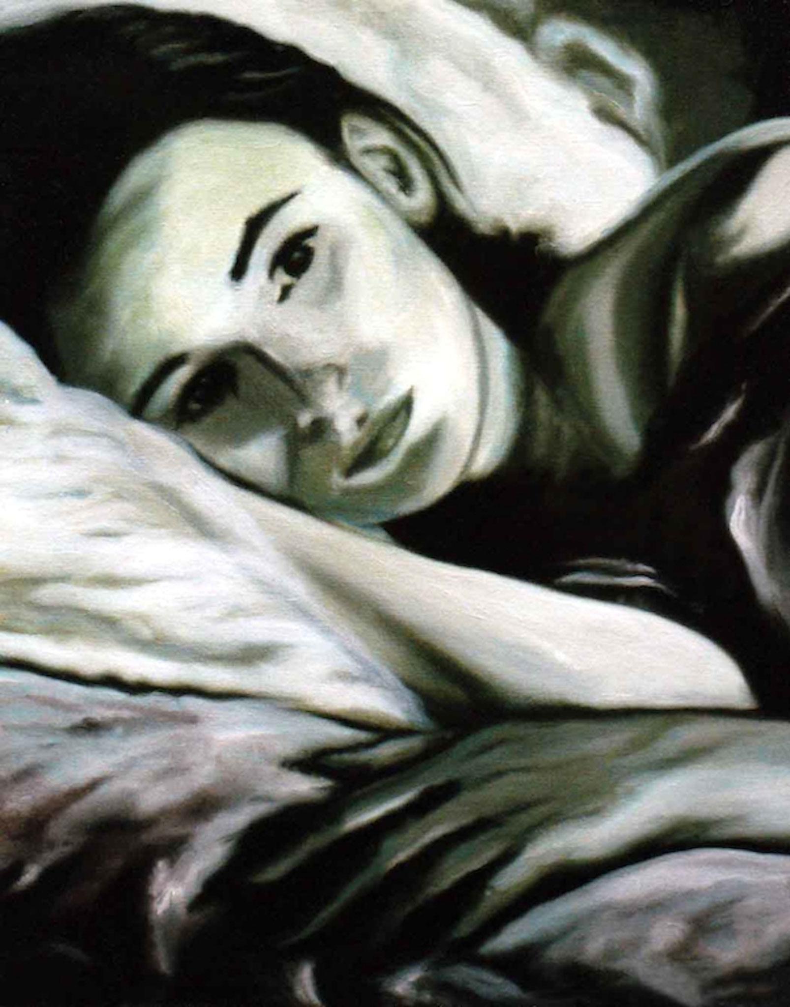 ' Melancholie ' Öl a. LW, 50 x 40 cm, 2001