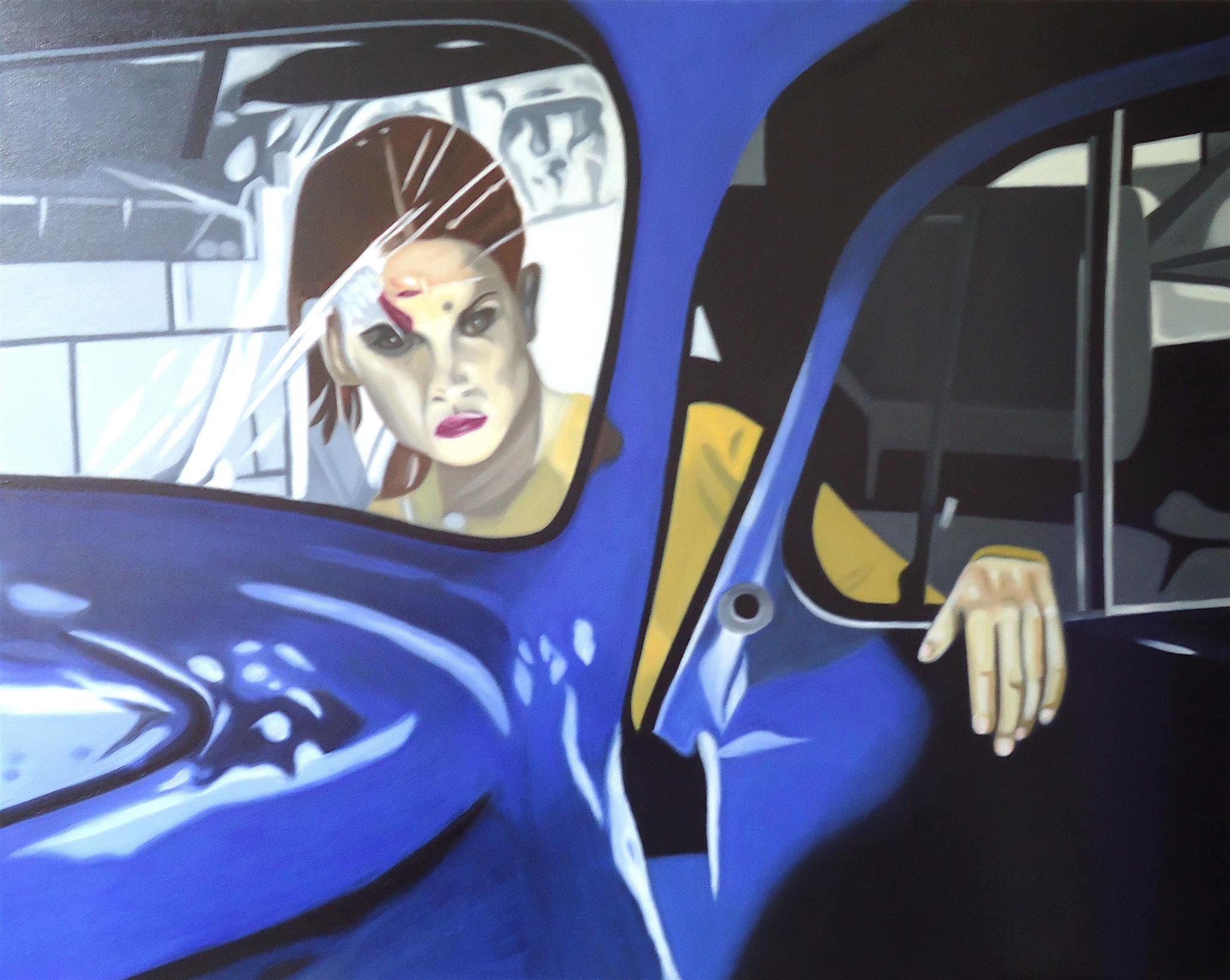 ' Das Trauma ' Öl a. LW, 80 x 100 cm, 2020