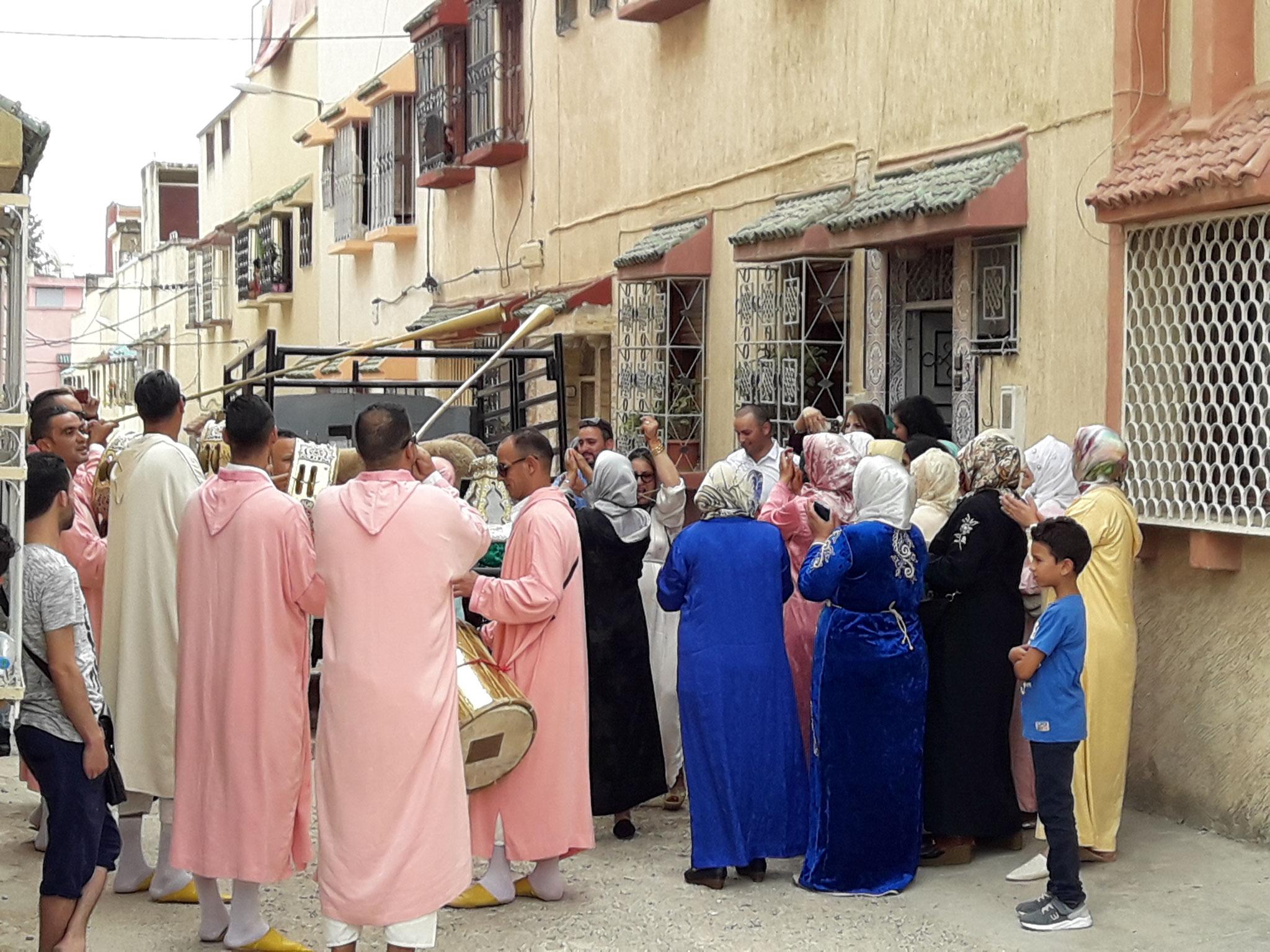 Hochzeit auf marokkanisch