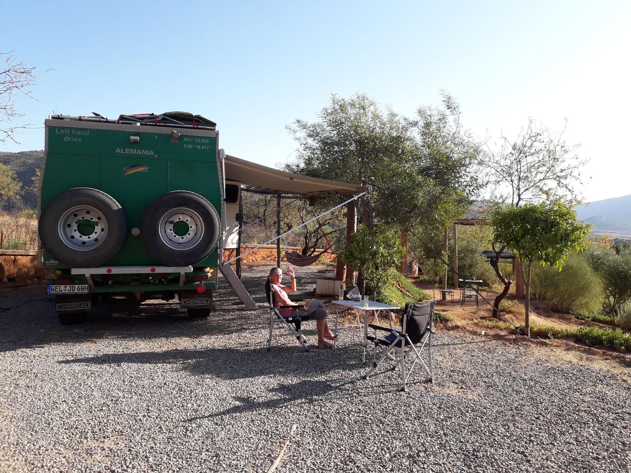 Zebra Camping Ouzoud