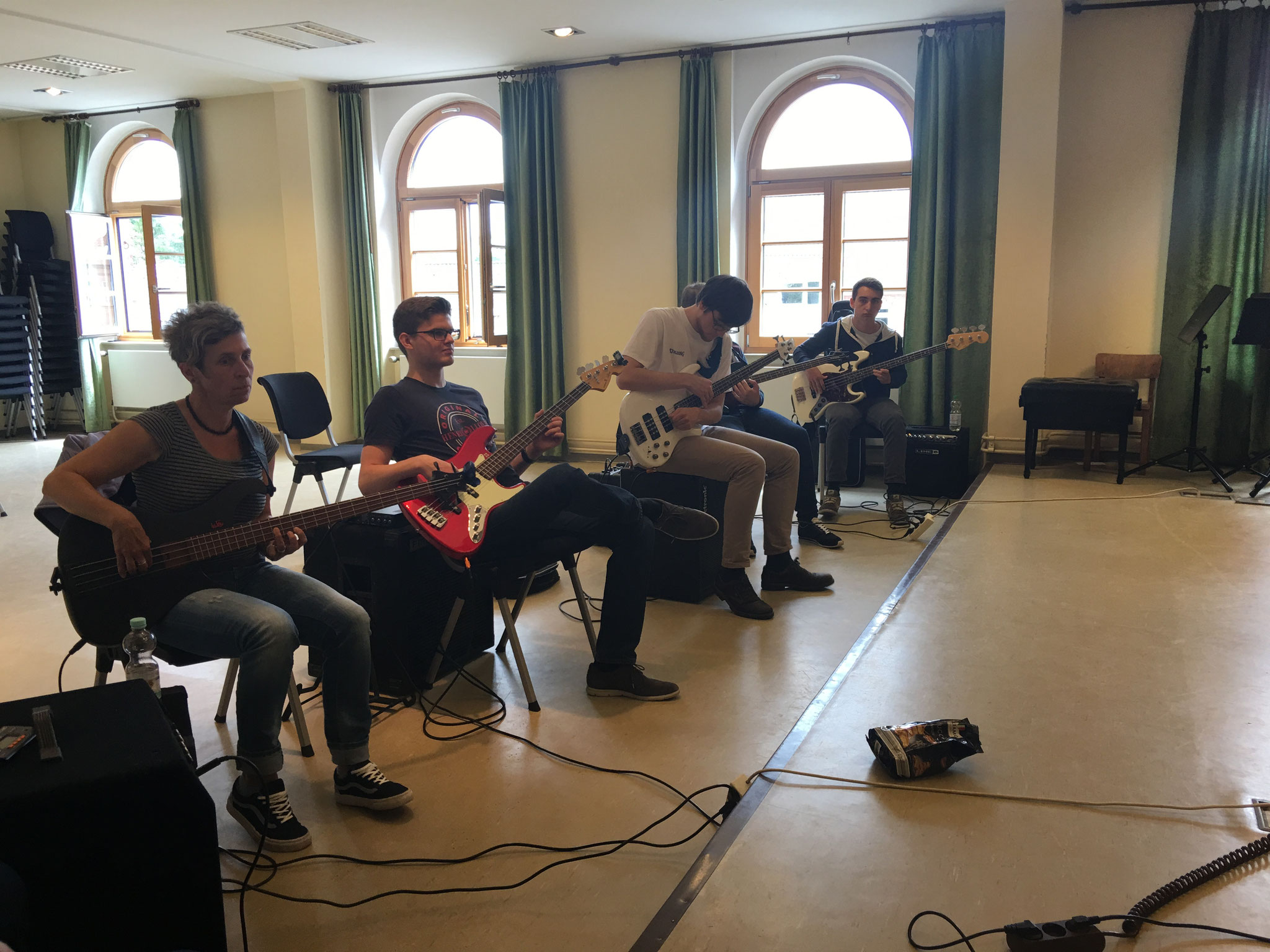 Bass Workshop in der Rendsburger Musikschule
