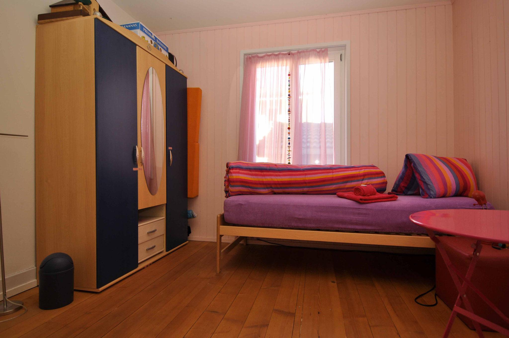 Das Rosa Zimmer für eine oder zwei Personen