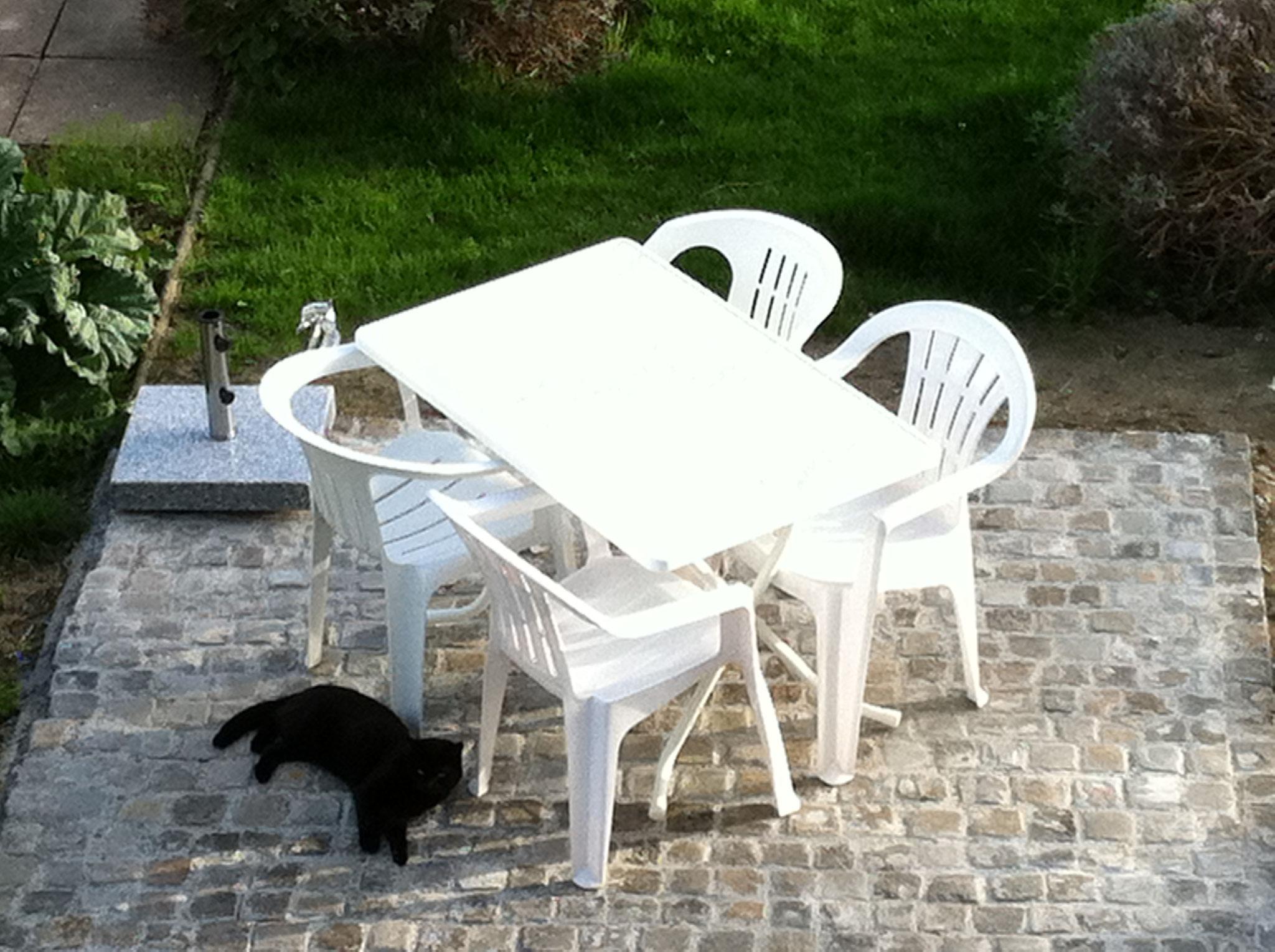 Gartensitzplatz zur Erholung