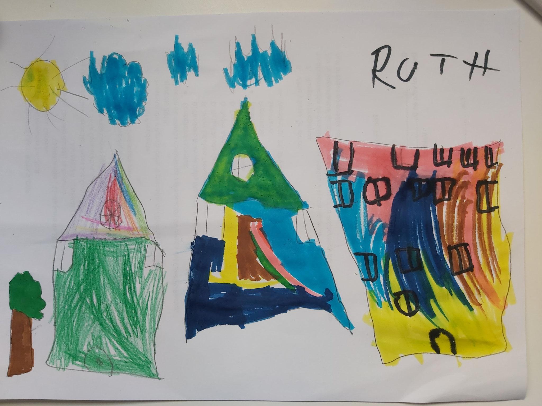 Dibujo realizado por Ruth (2ºEI)