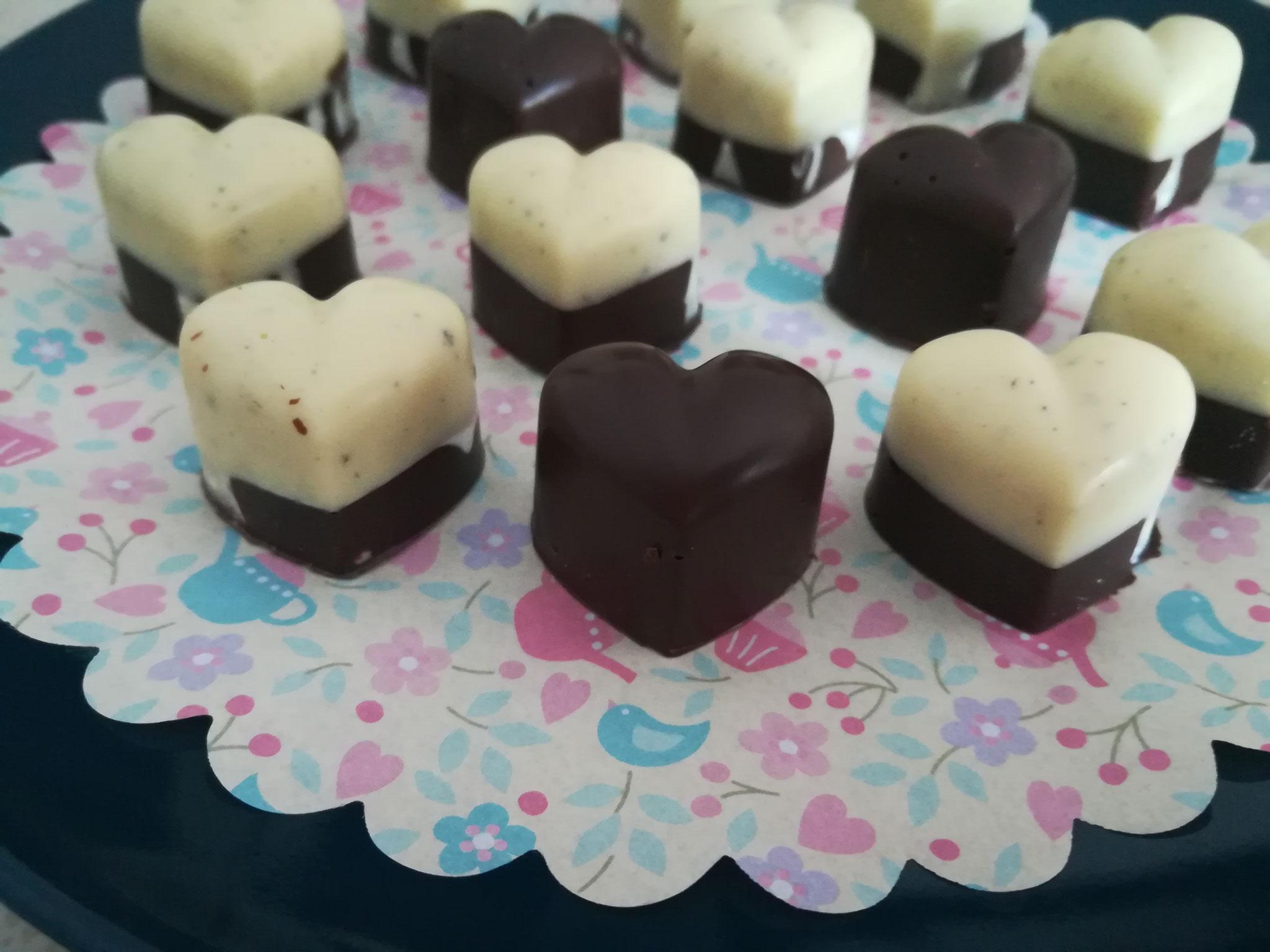 Cioccolatini dolce metà