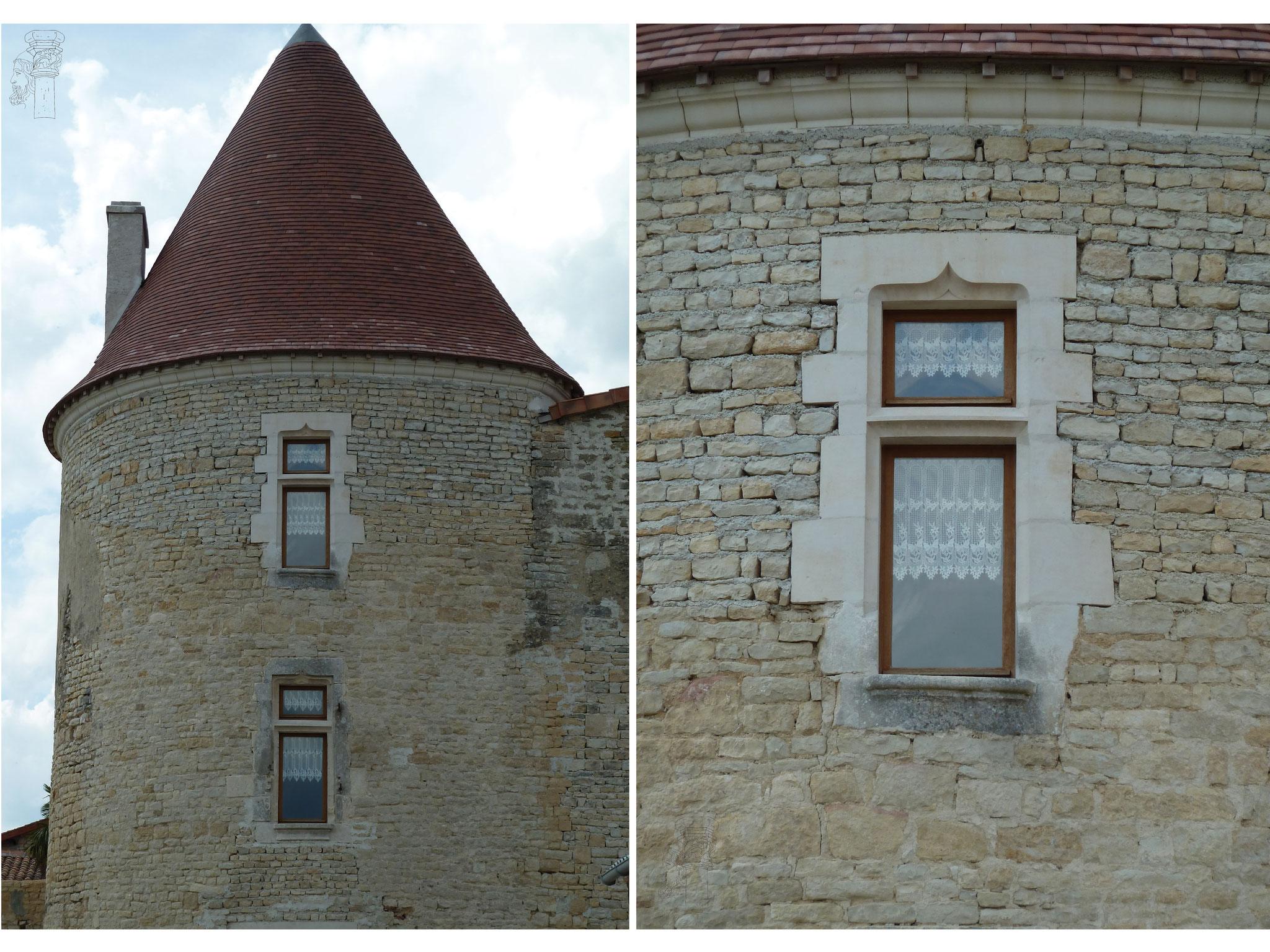 Fenêtre à traverse XVème