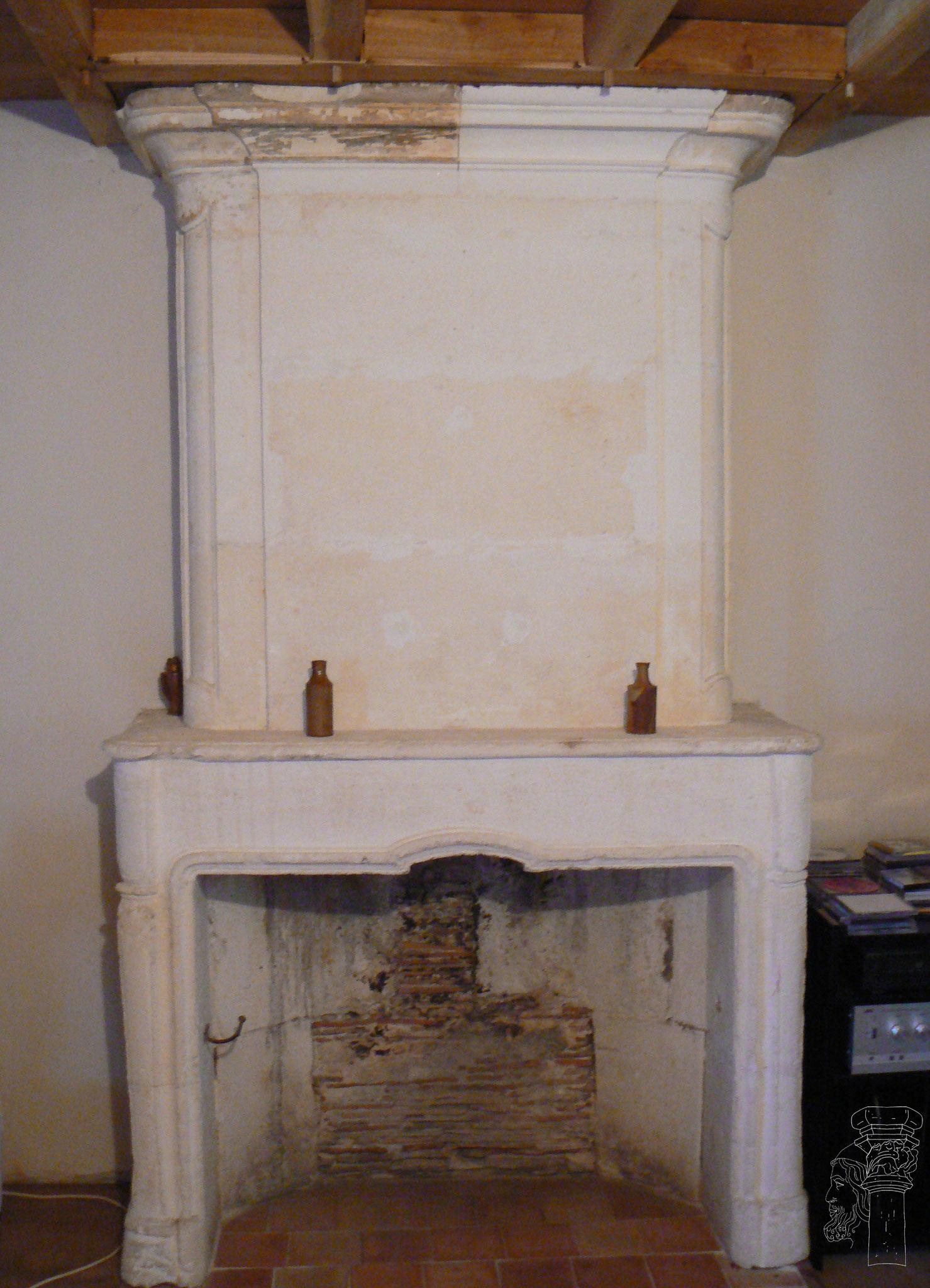 cheminée fin XVIIIème