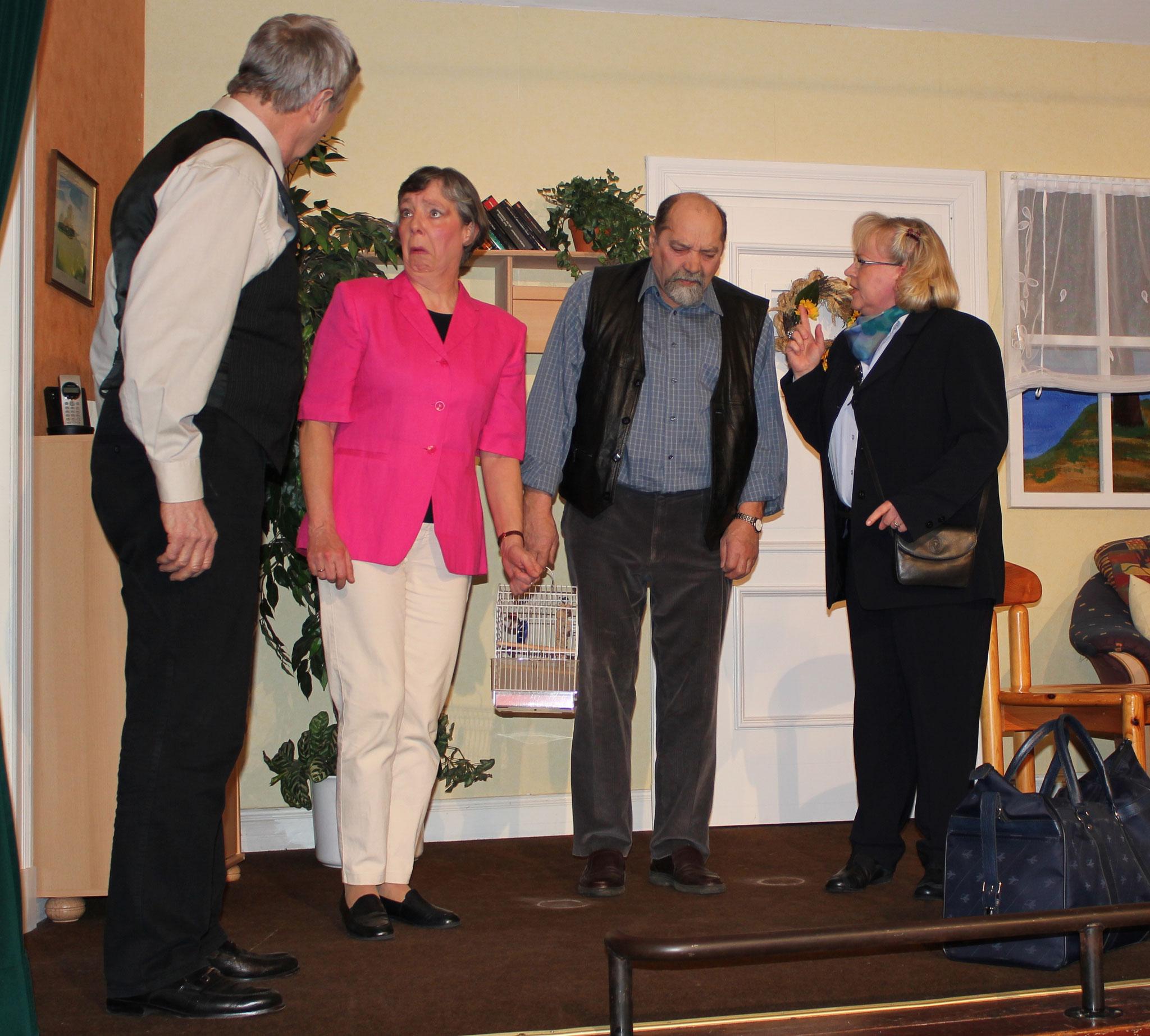 Wilke Visser, Frauke Willrodt, Jochen Besler, Maike Baasch