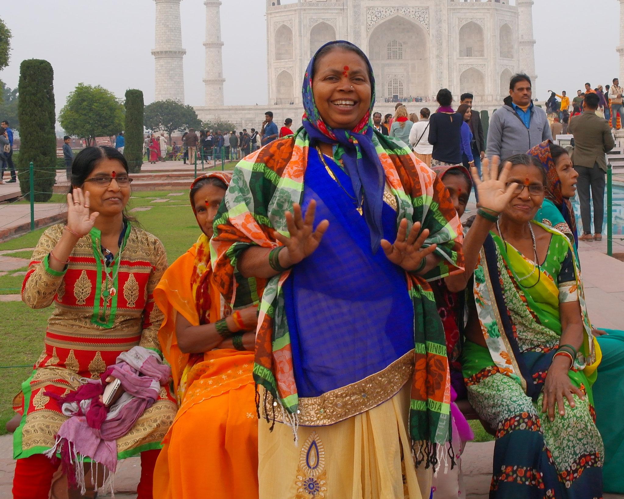 Die Herzlichkeit der Menschen in Indien beeindruckte.