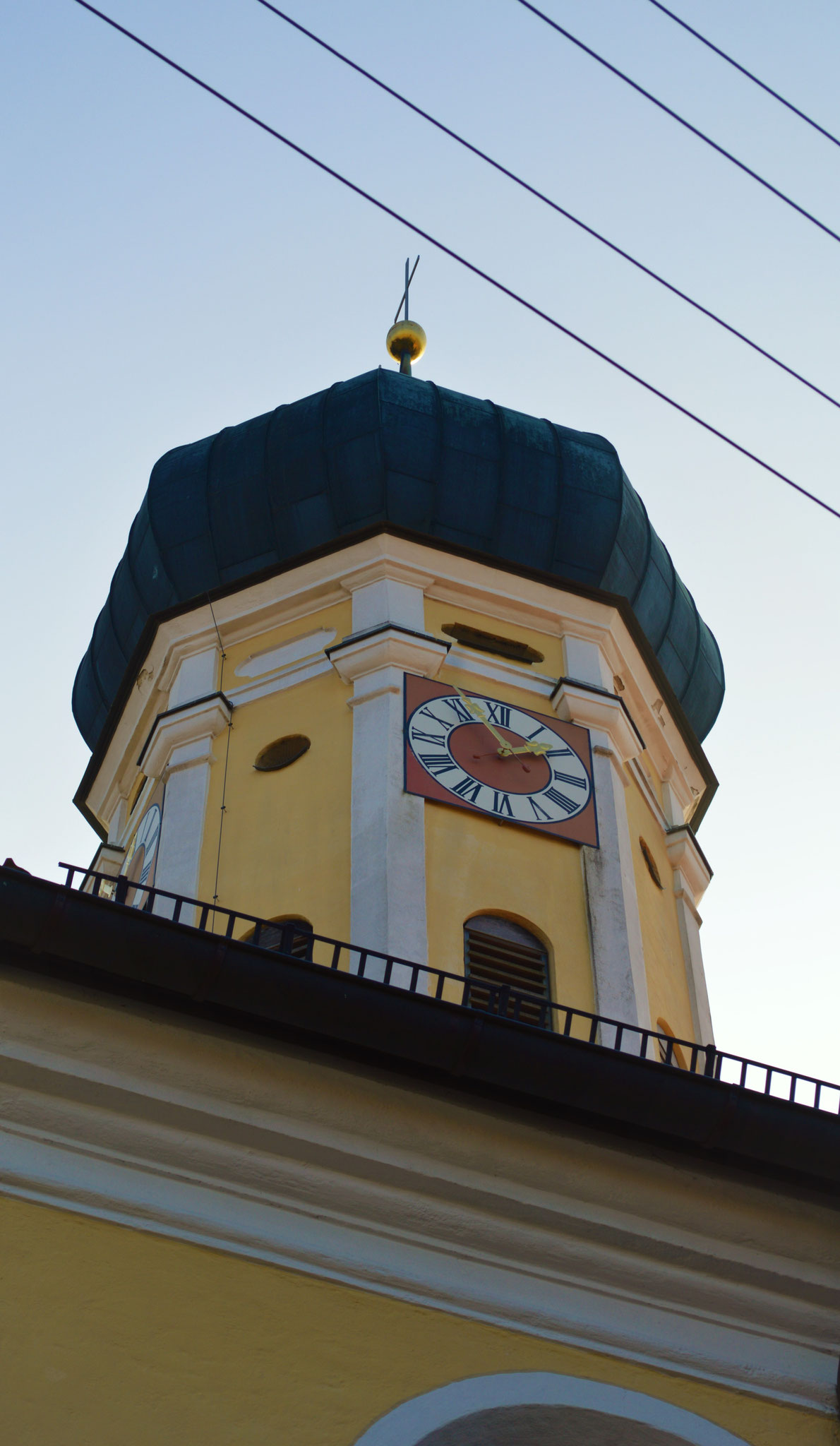 Turm der Pfarrkirche