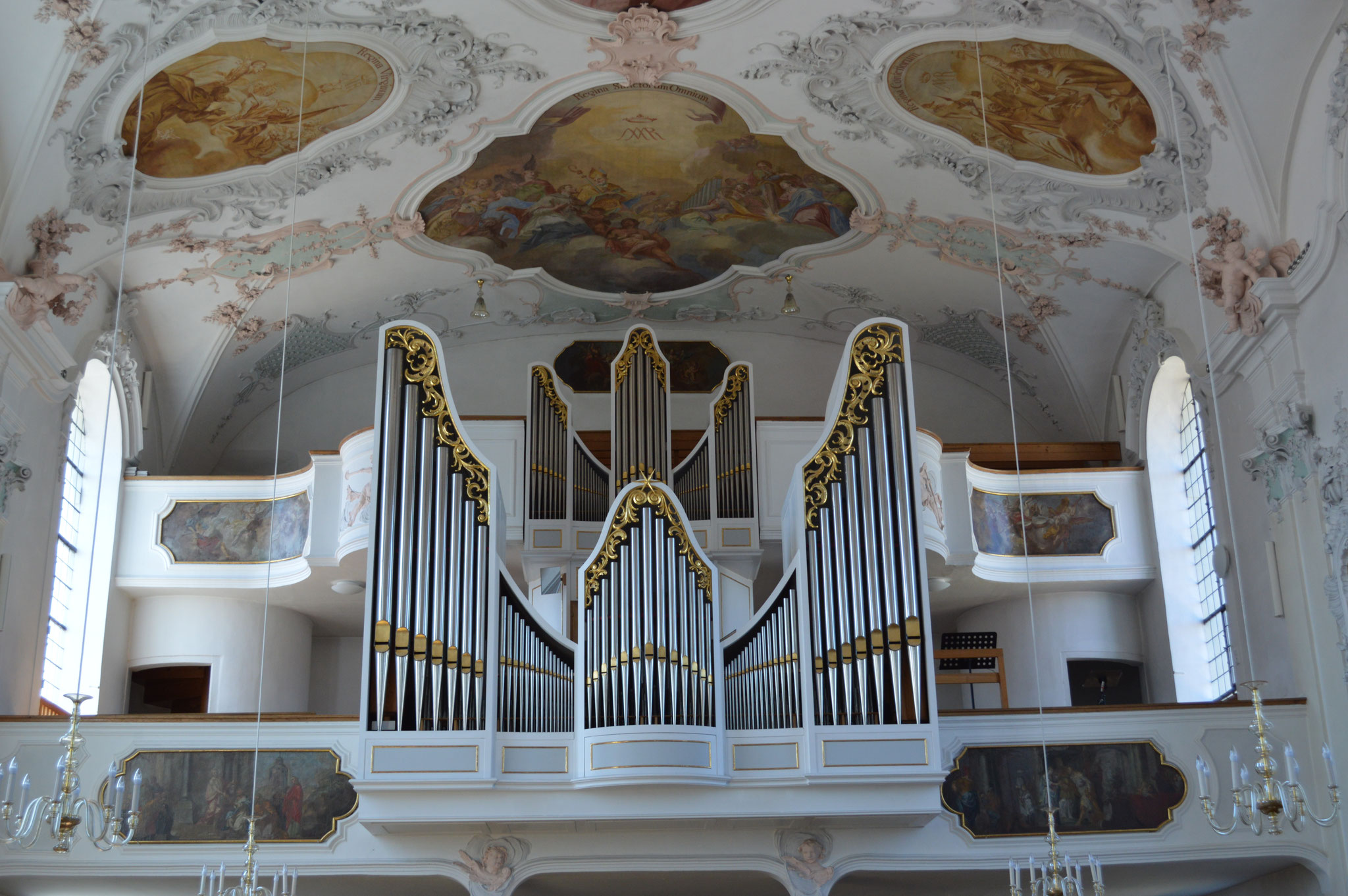 Orgel der Pfarrkirche