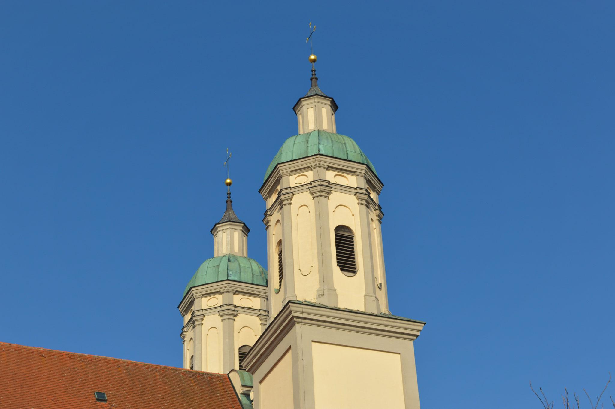 Türme der Klosterkirche