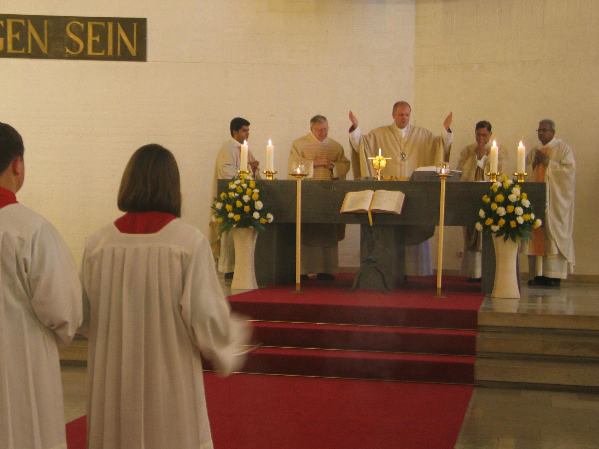 Das festliche Pontifikalamt
