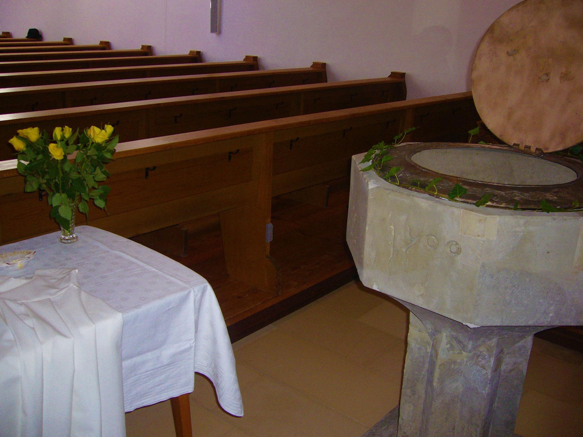 Taufstein der Pfarrkirche