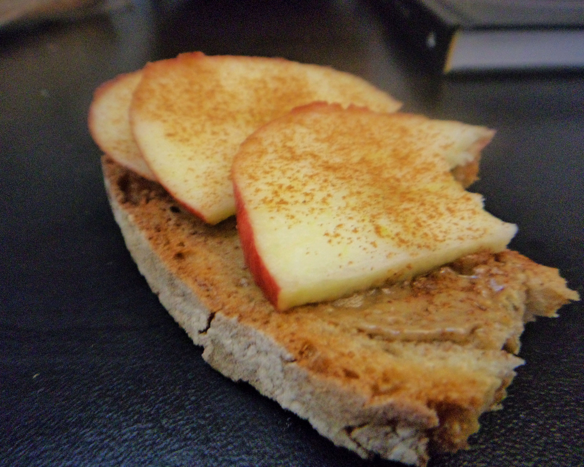 Tahini Apples Cinnamon Bread