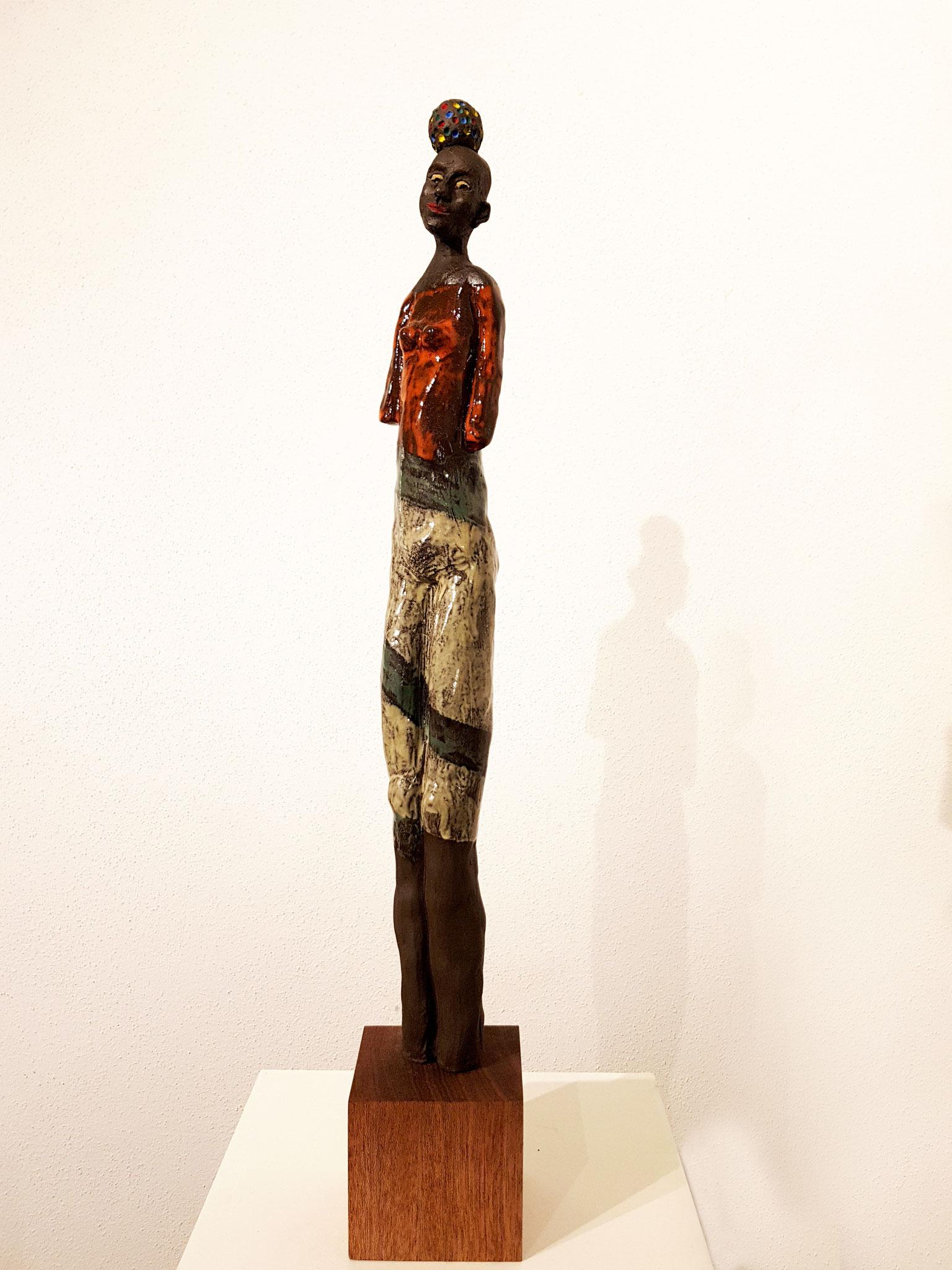 AFRICAN QUEEN 66x9x10 cm