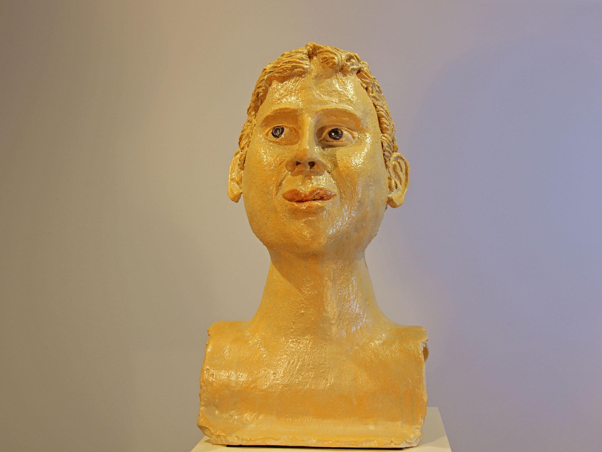 HERRENPORTRAIT 50x30x25 cm