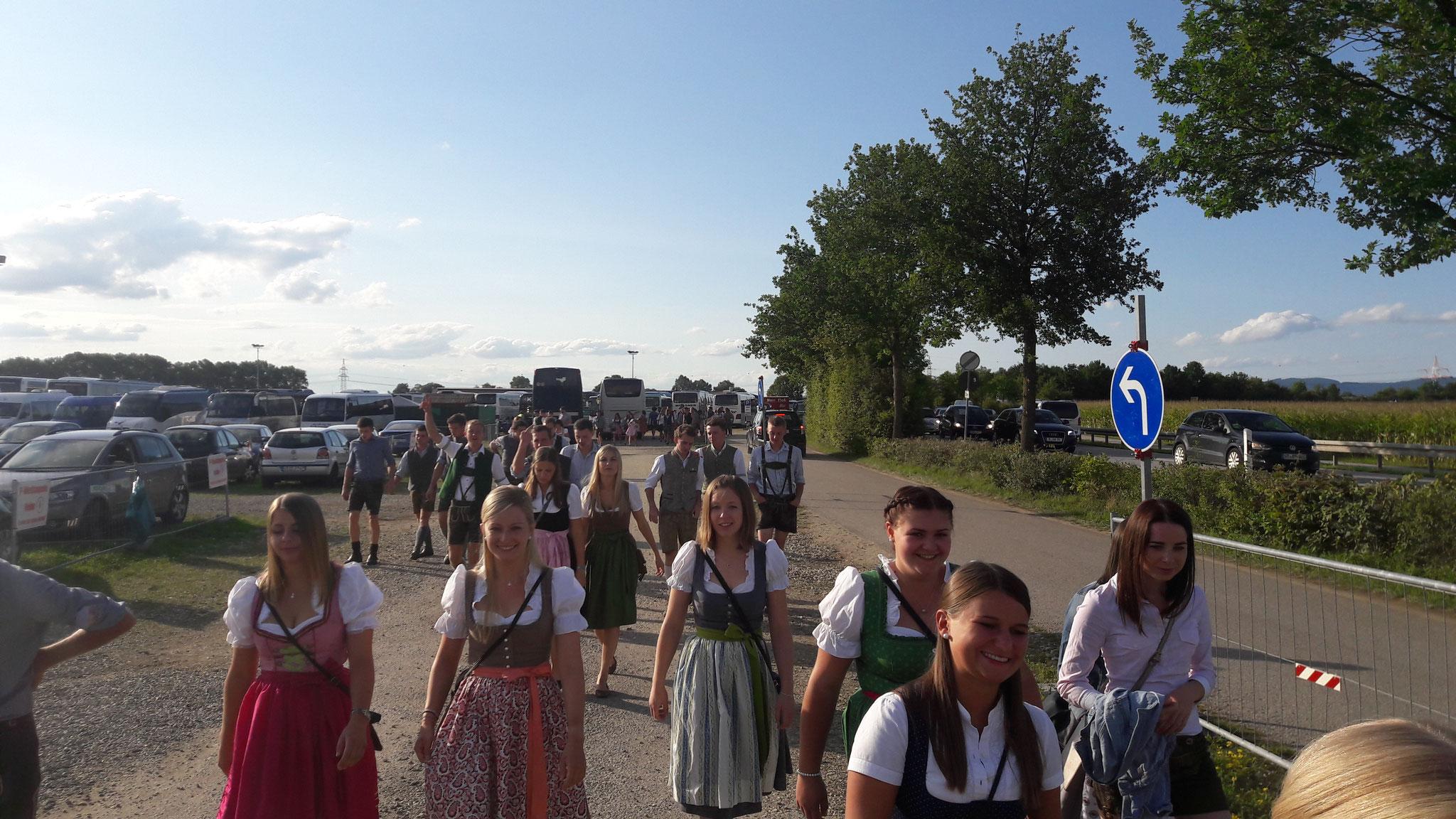 Ausflug Gäubodenfest Straubing