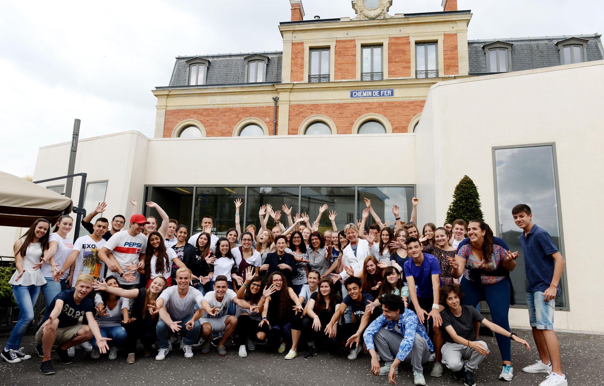 Jugendaustausch in Suresnes 2017