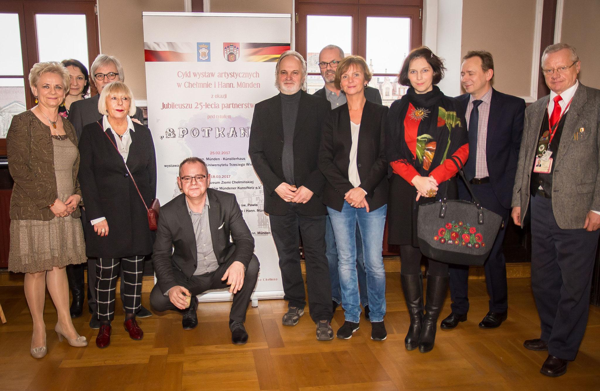 Ausstellungseröffnung in Chelmno